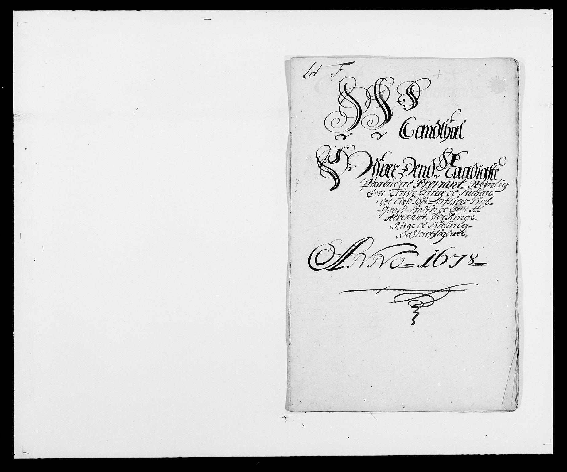 RA, Rentekammeret inntil 1814, Reviderte regnskaper, Fogderegnskap, R21/L1443: Fogderegnskap Ringerike og Hallingdal, 1678-1680, s. 116