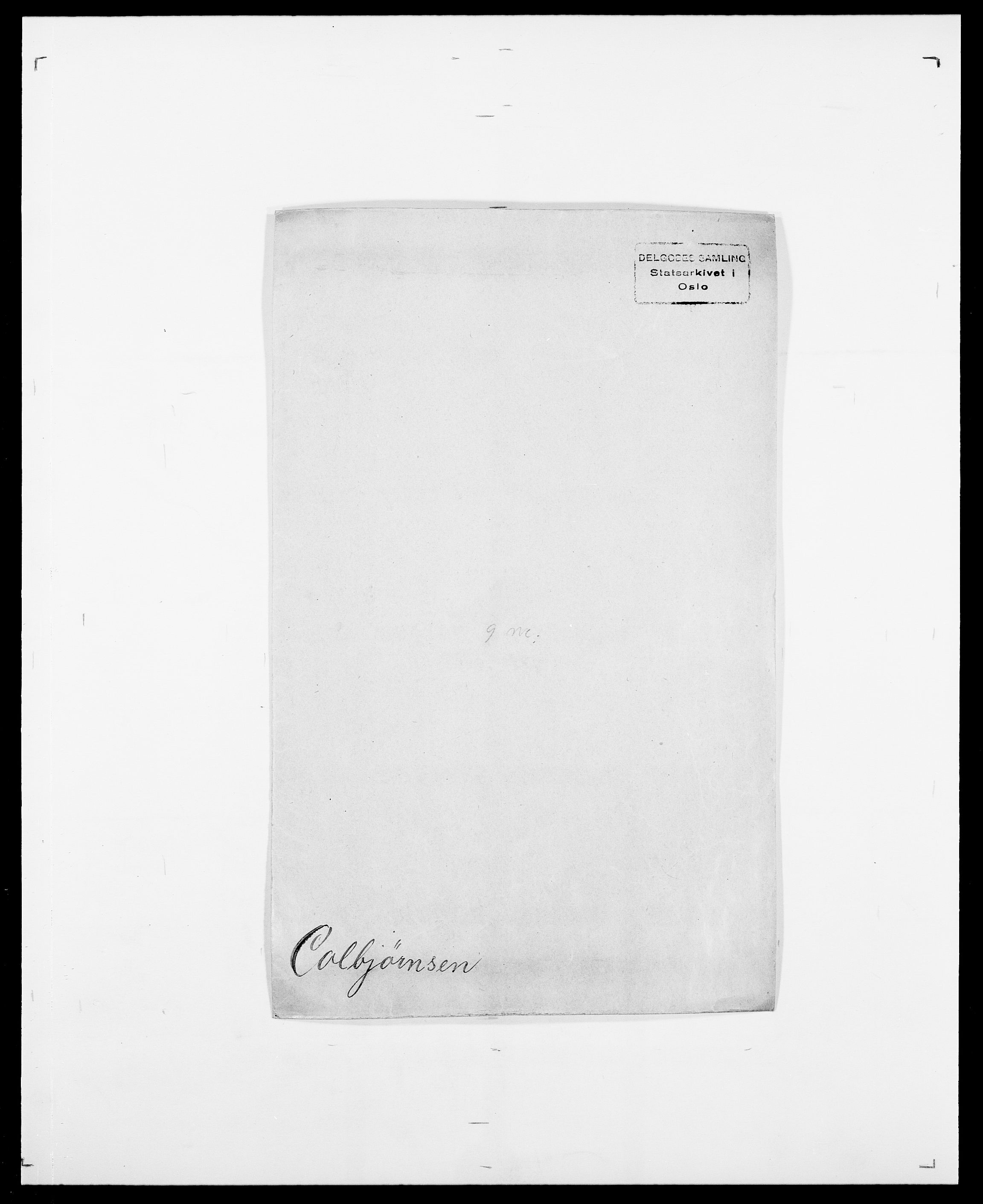 SAO, Delgobe, Charles Antoine - samling, D/Da/L0008: Capjon - Dagenbolt, s. 409