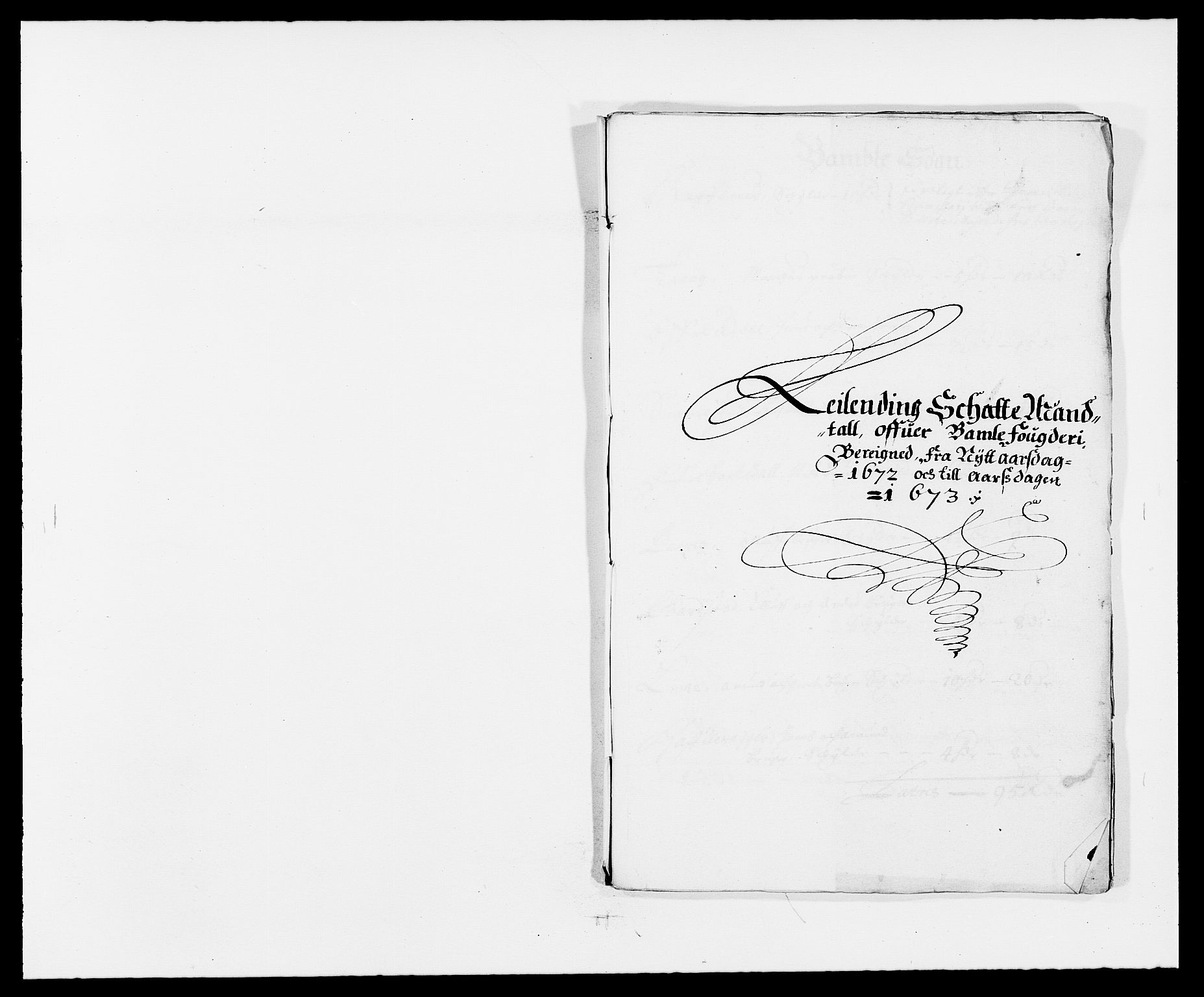 RA, Rentekammeret inntil 1814, Reviderte regnskaper, Fogderegnskap, R34/L2041: Fogderegnskap Bamble, 1670-1672, s. 373