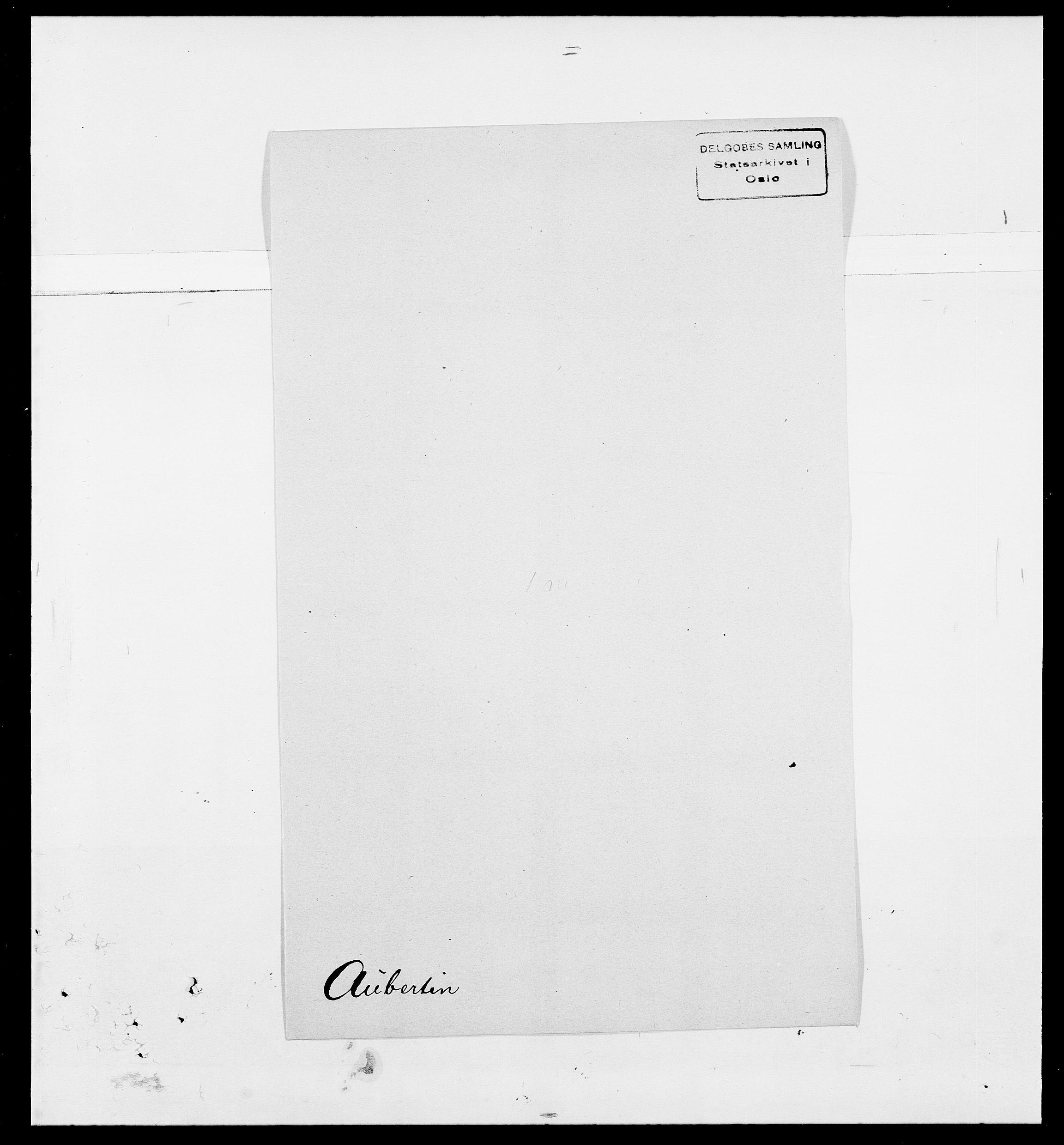 SAO, Delgobe, Charles Antoine - samling, D/Da/L0002: Anker, Ancher - Bauner, s. 504
