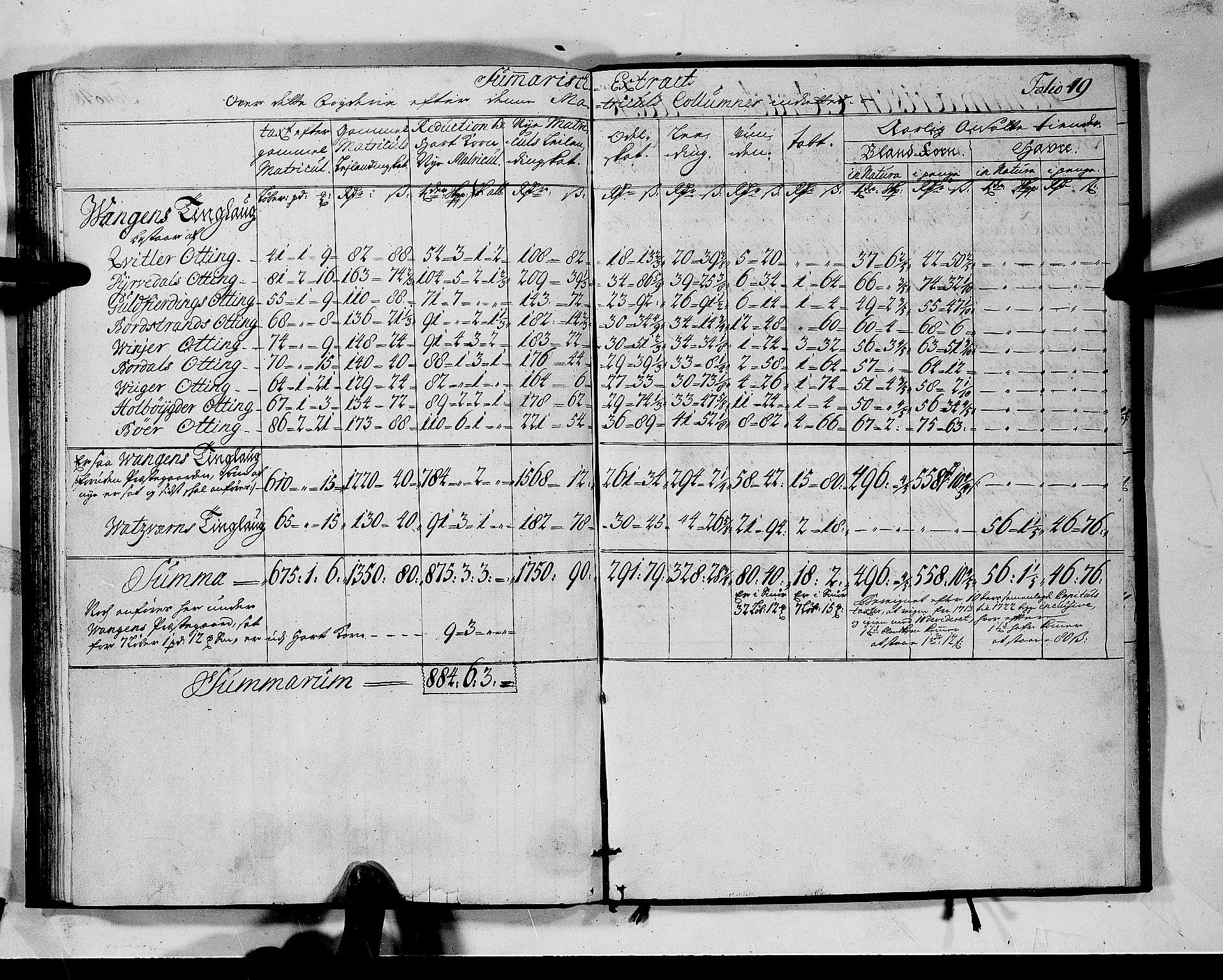 RA, Rentekammeret inntil 1814, Realistisk ordnet avdeling, N/Nb/Nbf/L0142: Voss matrikkelprotokoll, 1723, s. 48b-49a