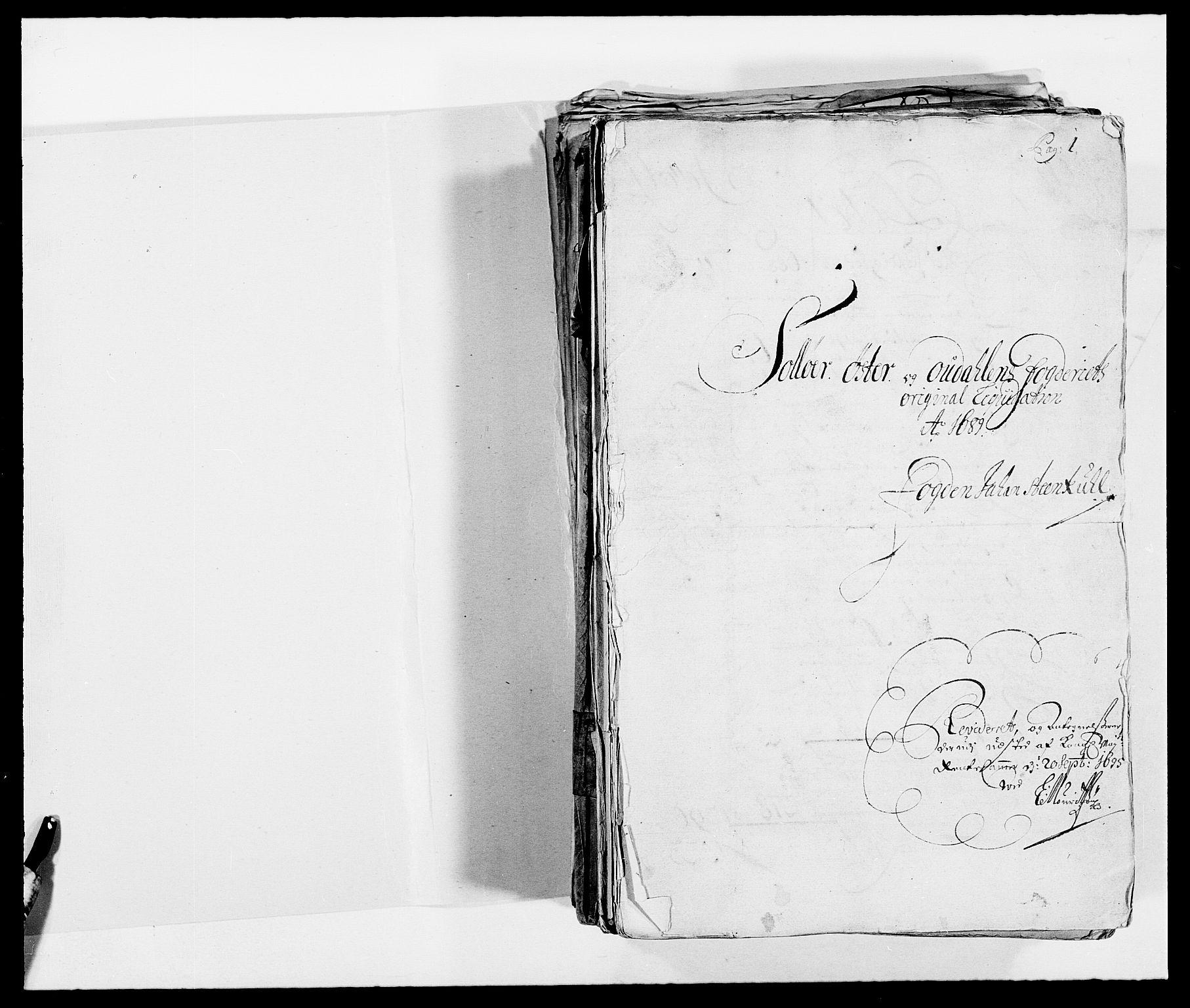 RA, Rentekammeret inntil 1814, Reviderte regnskaper, Fogderegnskap, R13/L0827: Fogderegnskap Solør, Odal og Østerdal, 1689, s. 19
