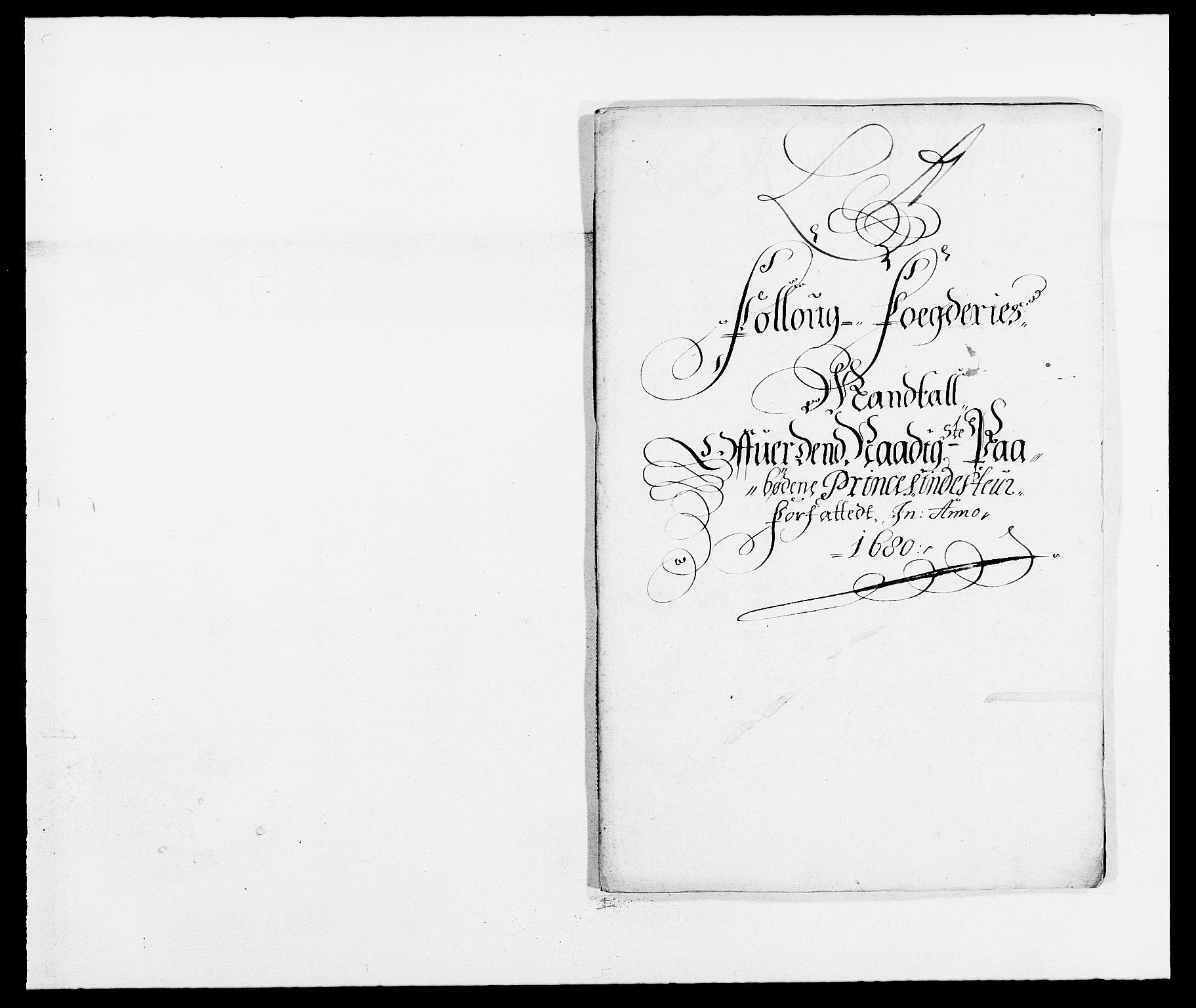 RA, Rentekammeret inntil 1814, Reviderte regnskaper, Fogderegnskap, R09/L0429: Fogderegnskap Follo, 1680-1681, s. 171