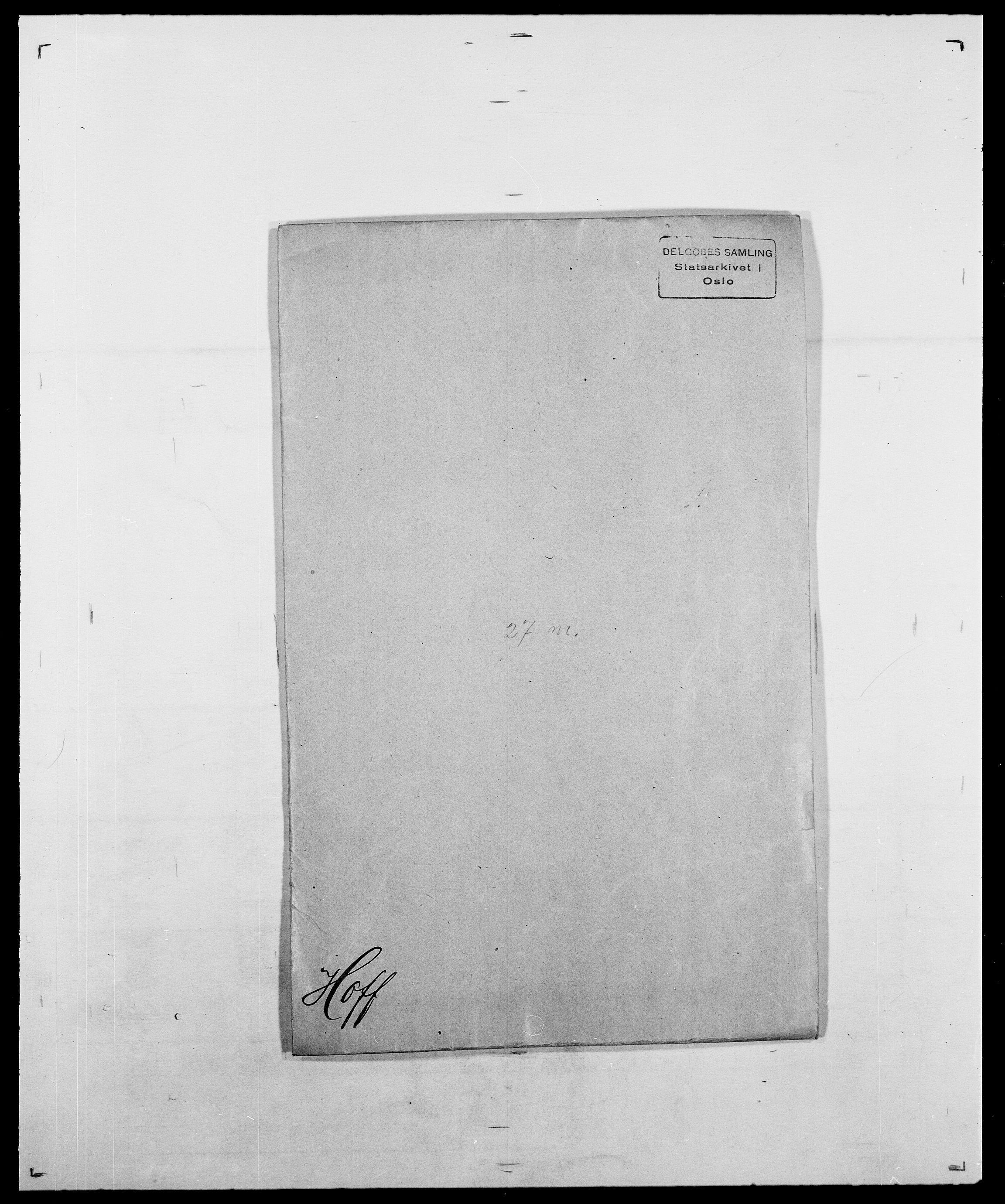 SAO, Delgobe, Charles Antoine - samling, D/Da/L0018: Hoch - Howert, s. 30