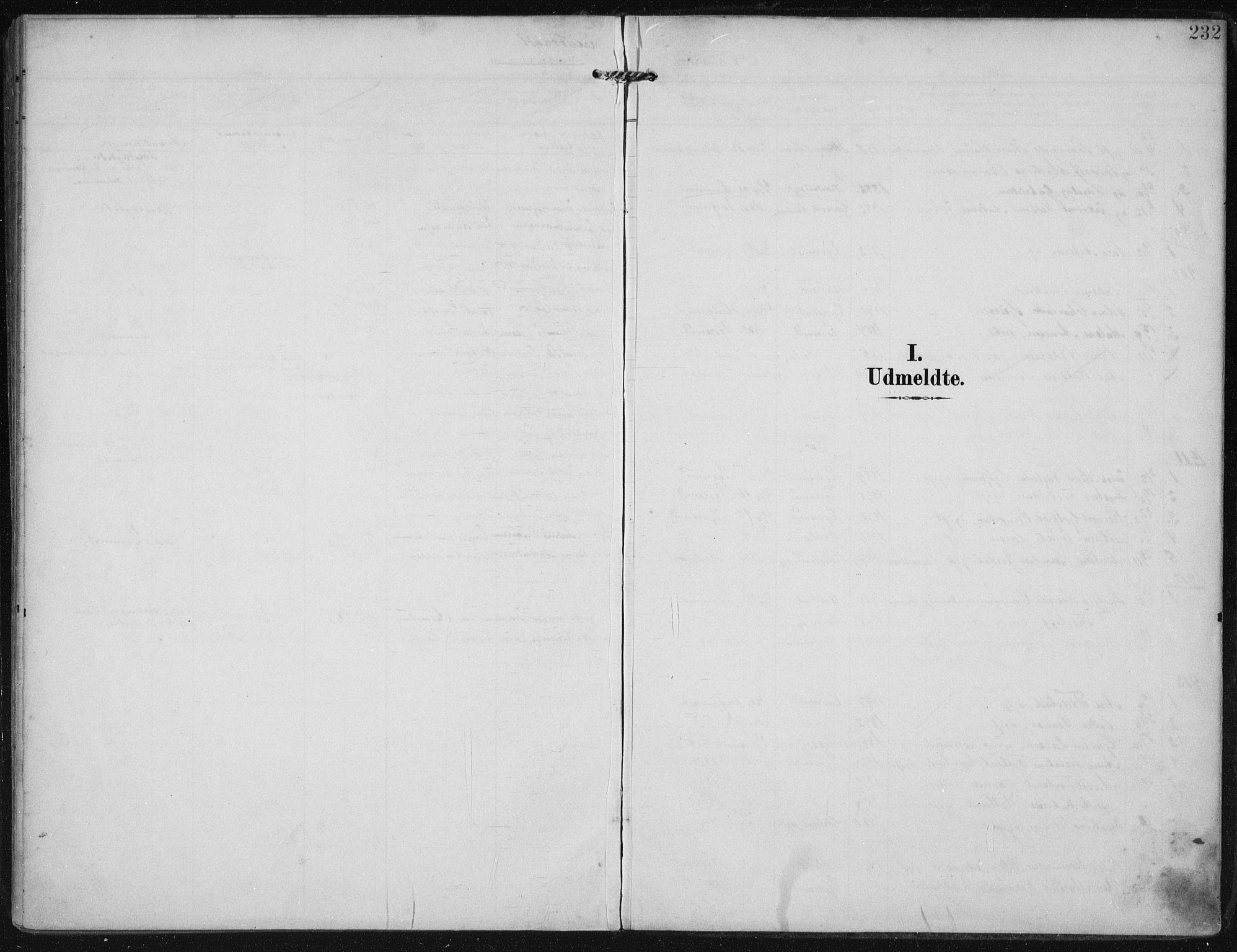 SAST, Egersund sokneprestkontor, Ministerialbok nr. A 21, 1905-1928, s. 232