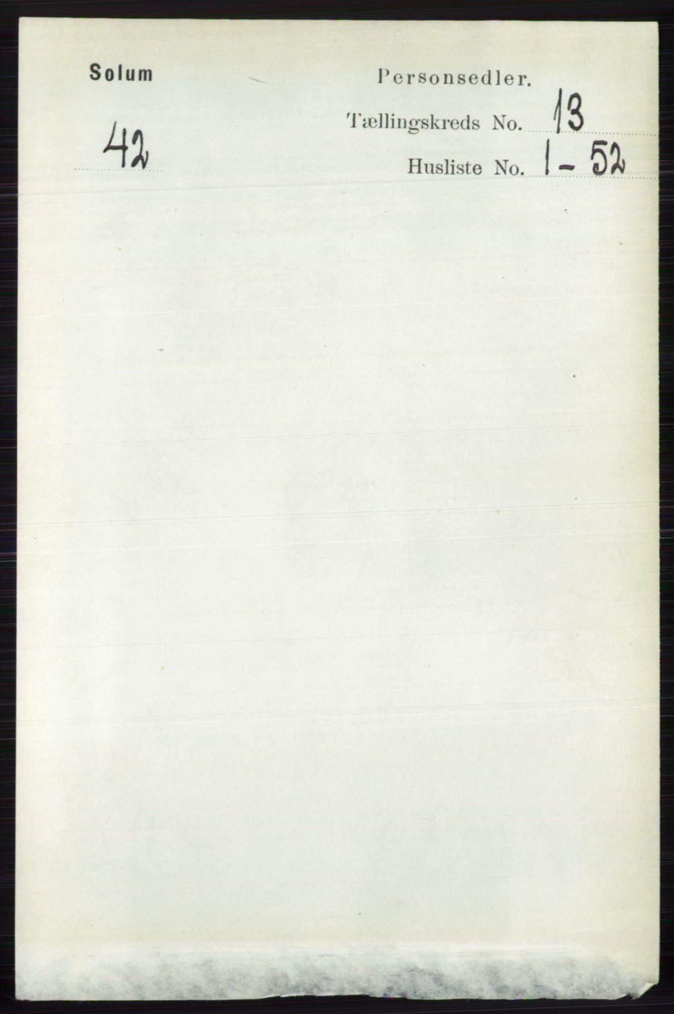 RA, Folketelling 1891 for 0818 Solum herred, 1891, s. 6056