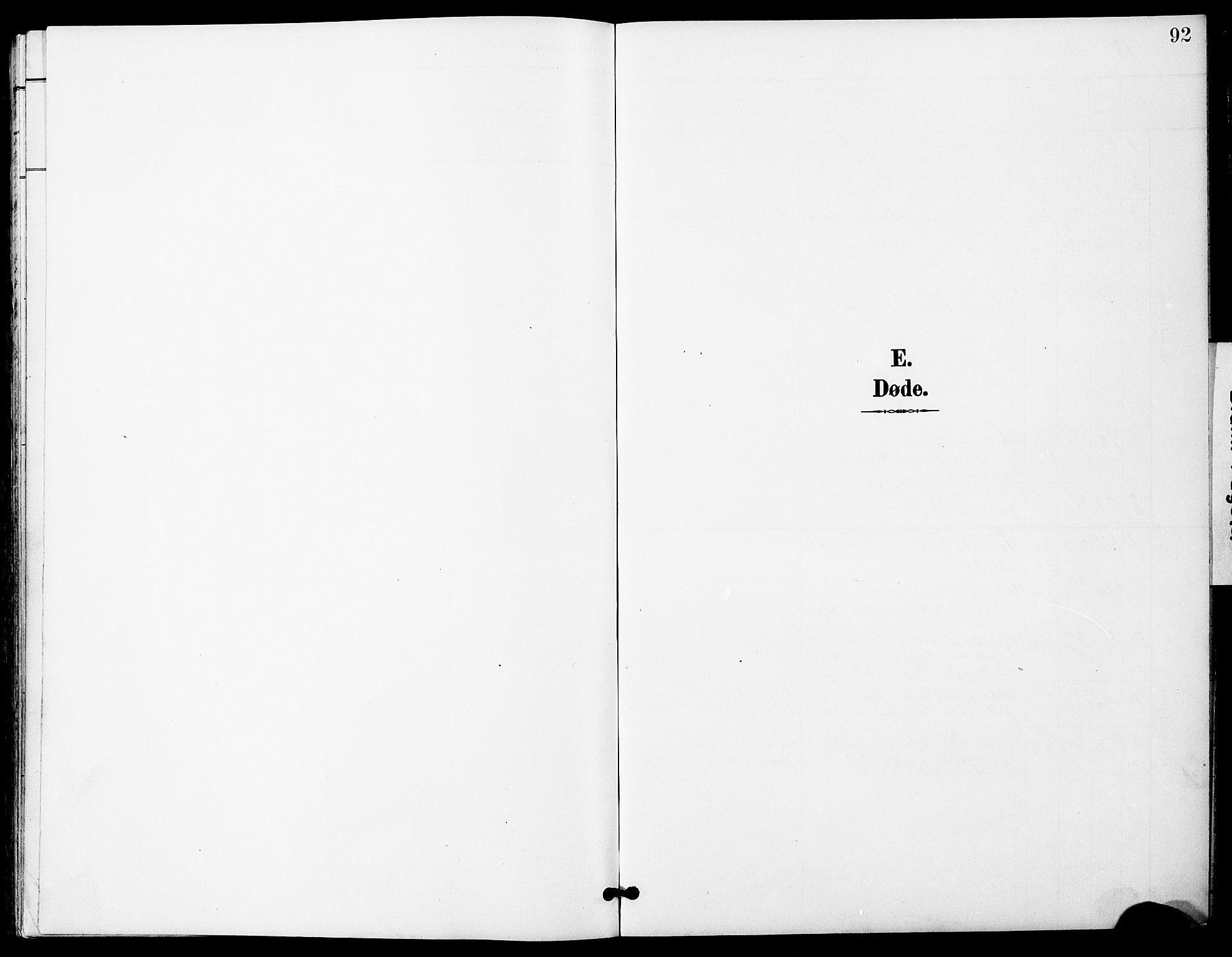 SAT, Ministerialprotokoller, klokkerbøker og fødselsregistre - Sør-Trøndelag, 683/L0950: Klokkerbok nr. 683C02, 1897-1918, s. 92