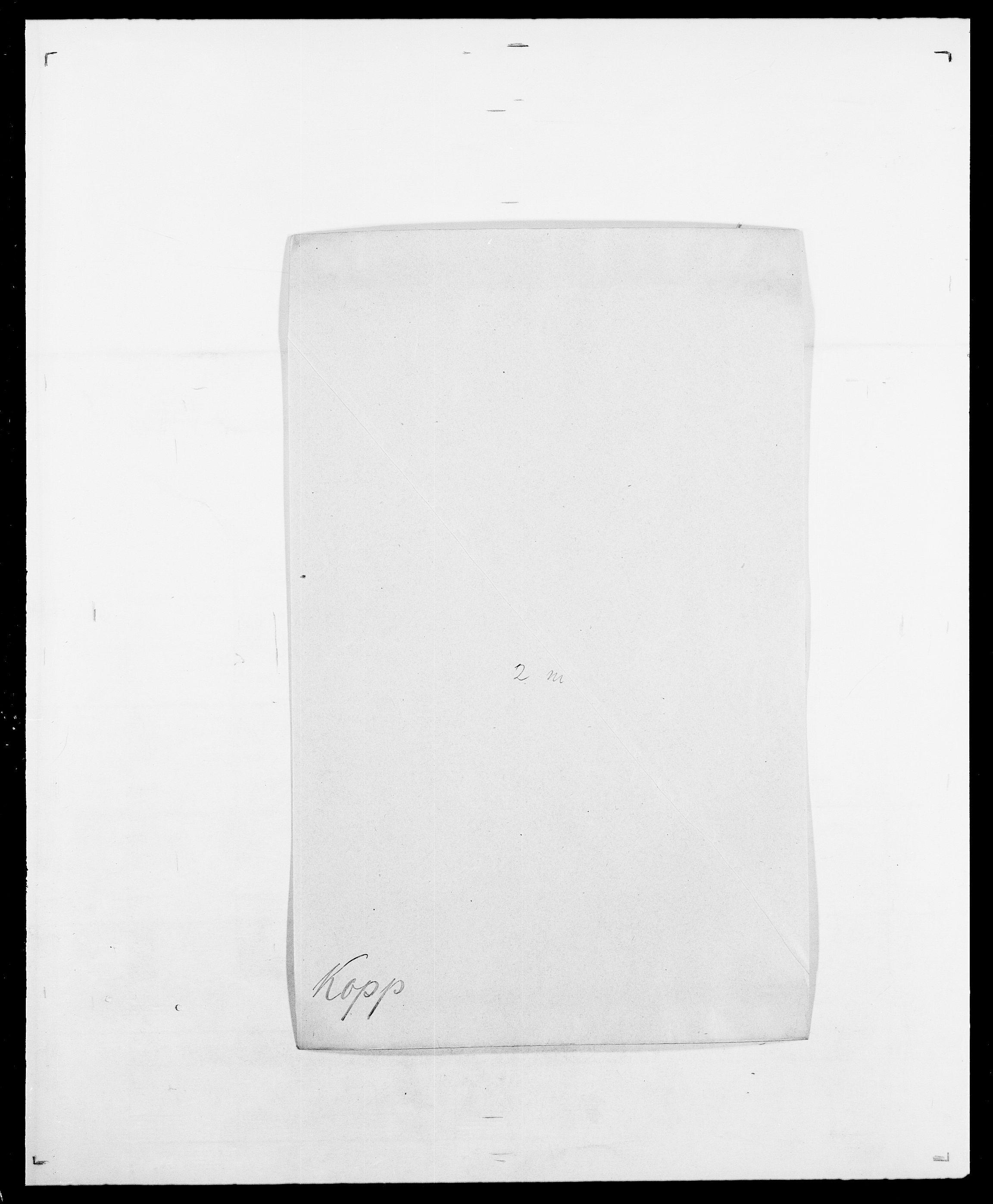 SAO, Delgobe, Charles Antoine - samling, D/Da/L0021: Klagenberg - Kristoft, s. 543
