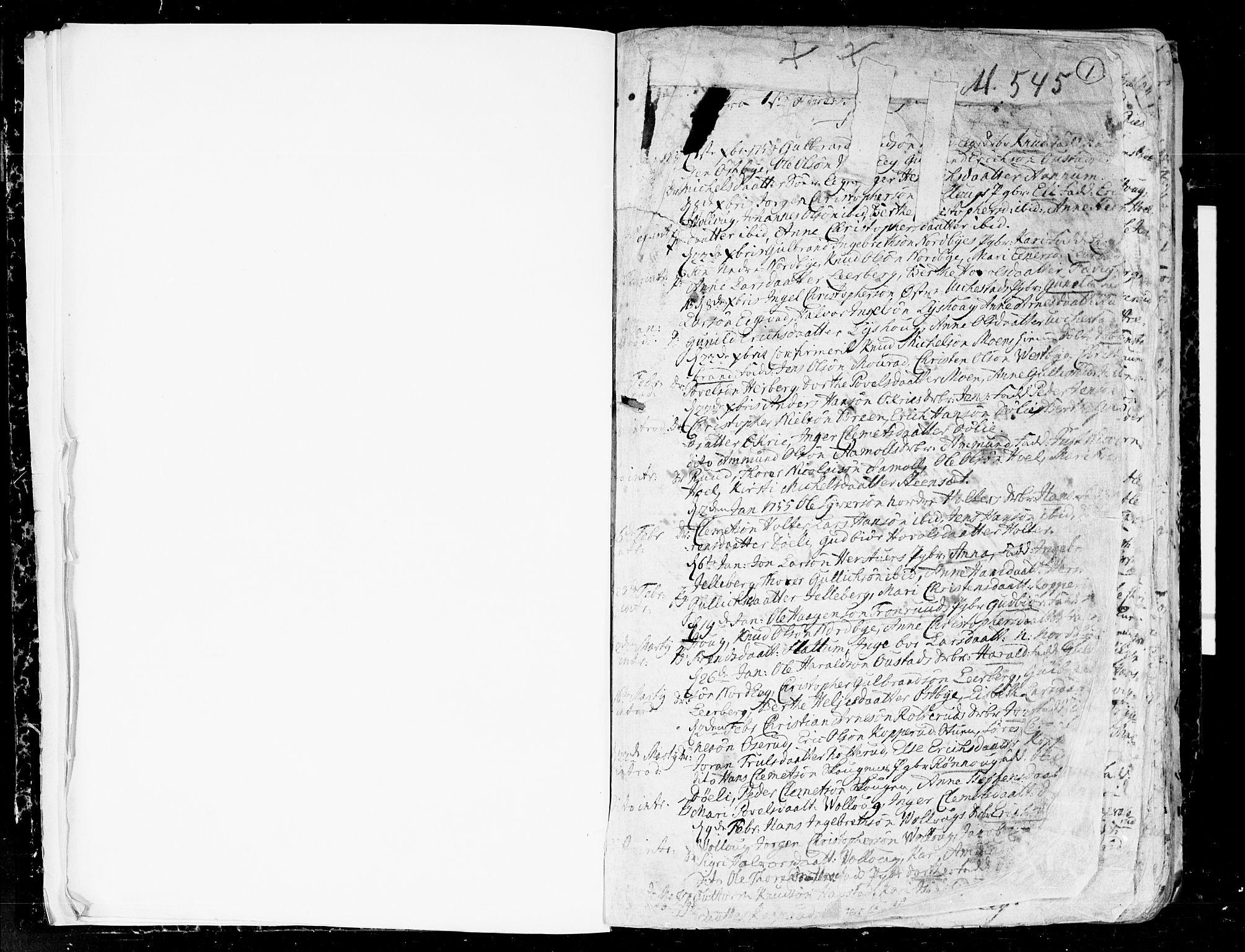 SAO, Nannestad prestekontor Kirkebøker, F/Fa/L0007: Ministerialbok nr. I 7, 1754-1791, s. 0-1