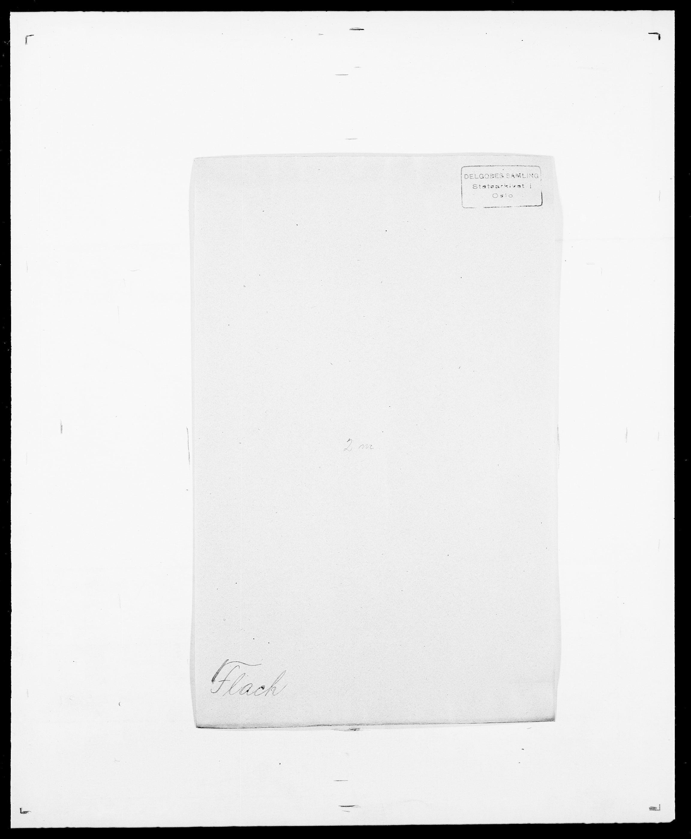 SAO, Delgobe, Charles Antoine - samling, D/Da/L0011: Fahlander - Flood, Flod, s. 564