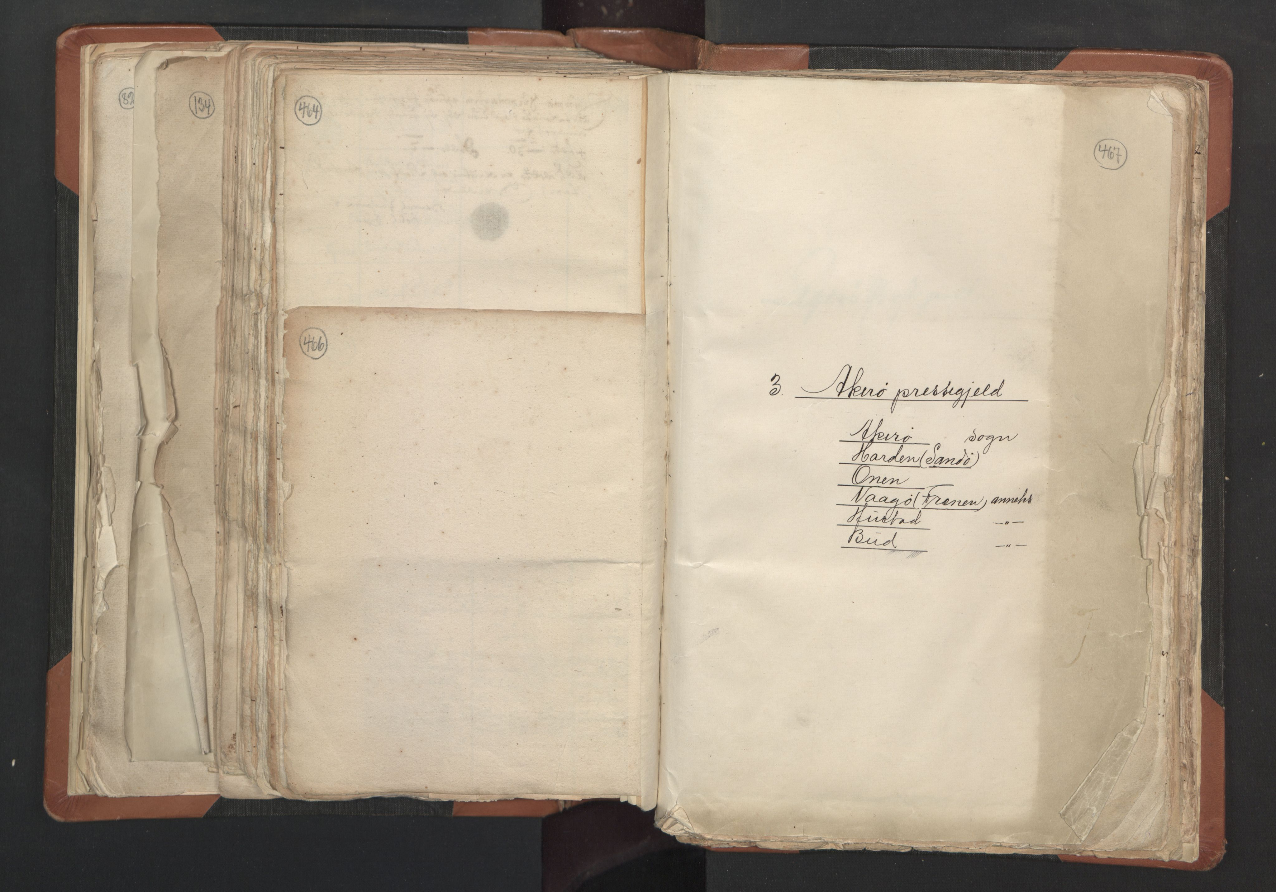 RA, Sogneprestenes manntall 1664-1666, nr. 27: Romsdal prosti, 1664-1666, s. 466-467
