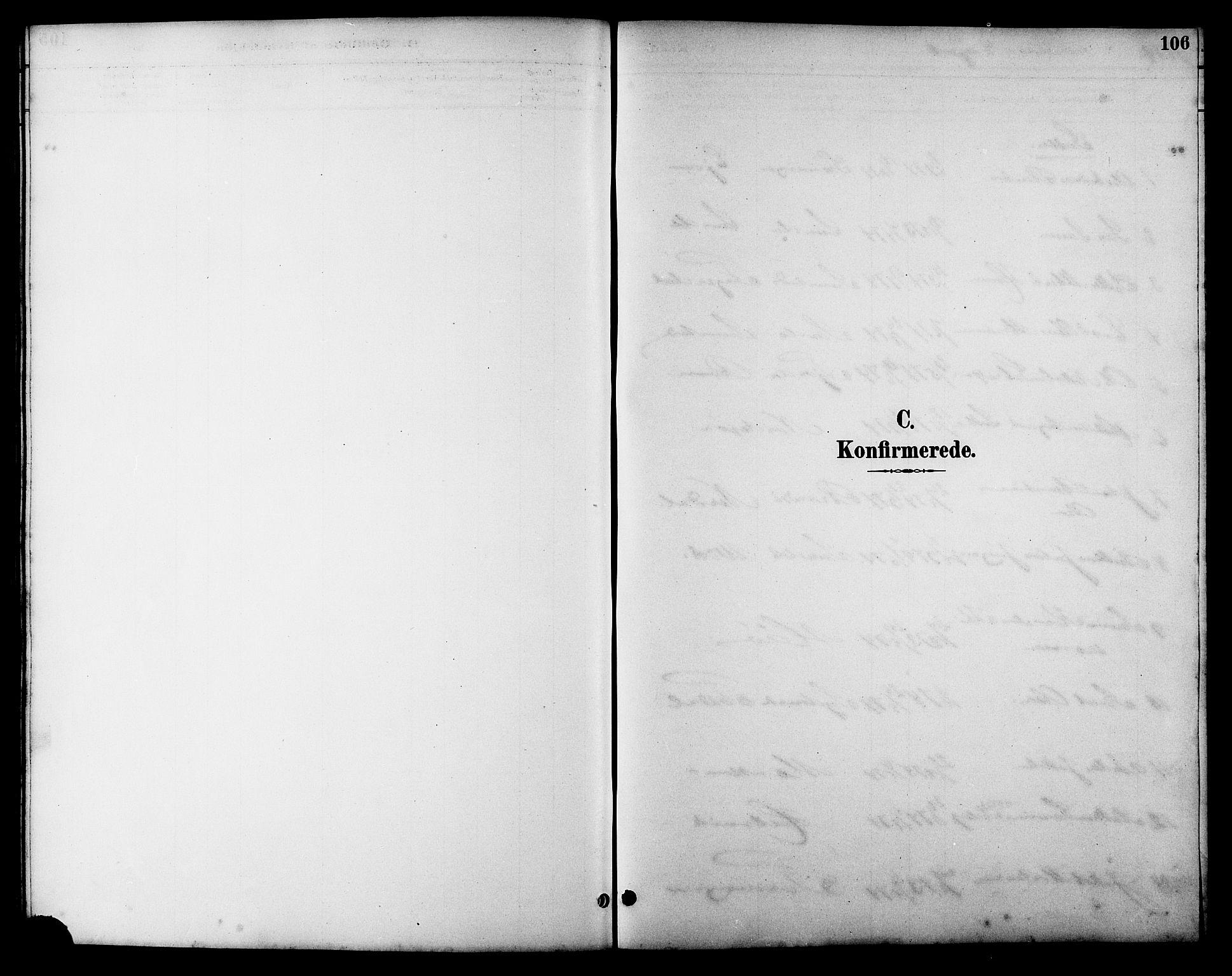 SAT, Ministerialprotokoller, klokkerbøker og fødselsregistre - Sør-Trøndelag, 657/L0716: Klokkerbok nr. 657C03, 1889-1904, s. 106