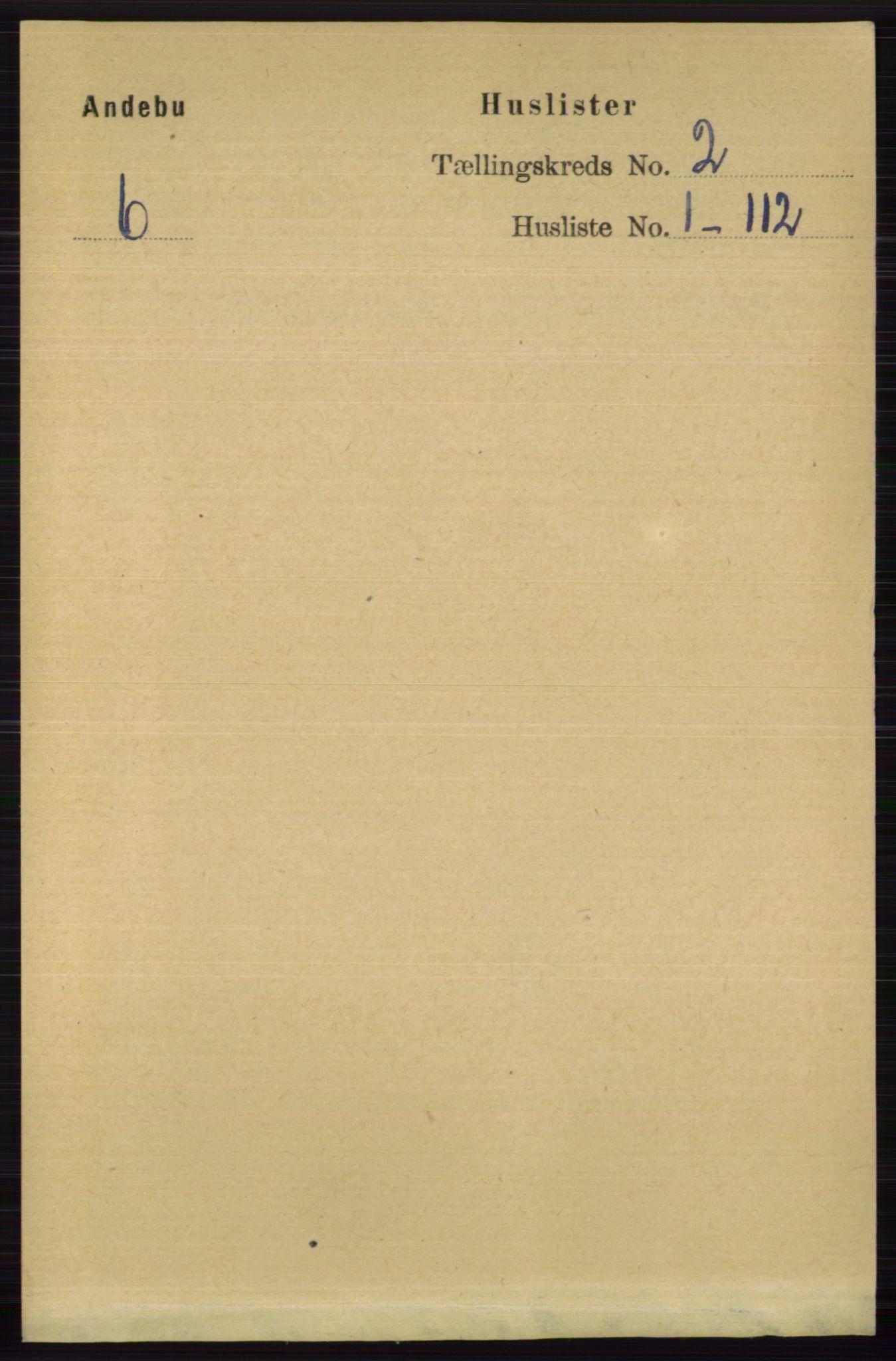 RA, Folketelling 1891 for 0719 Andebu herred, 1891, s. 779