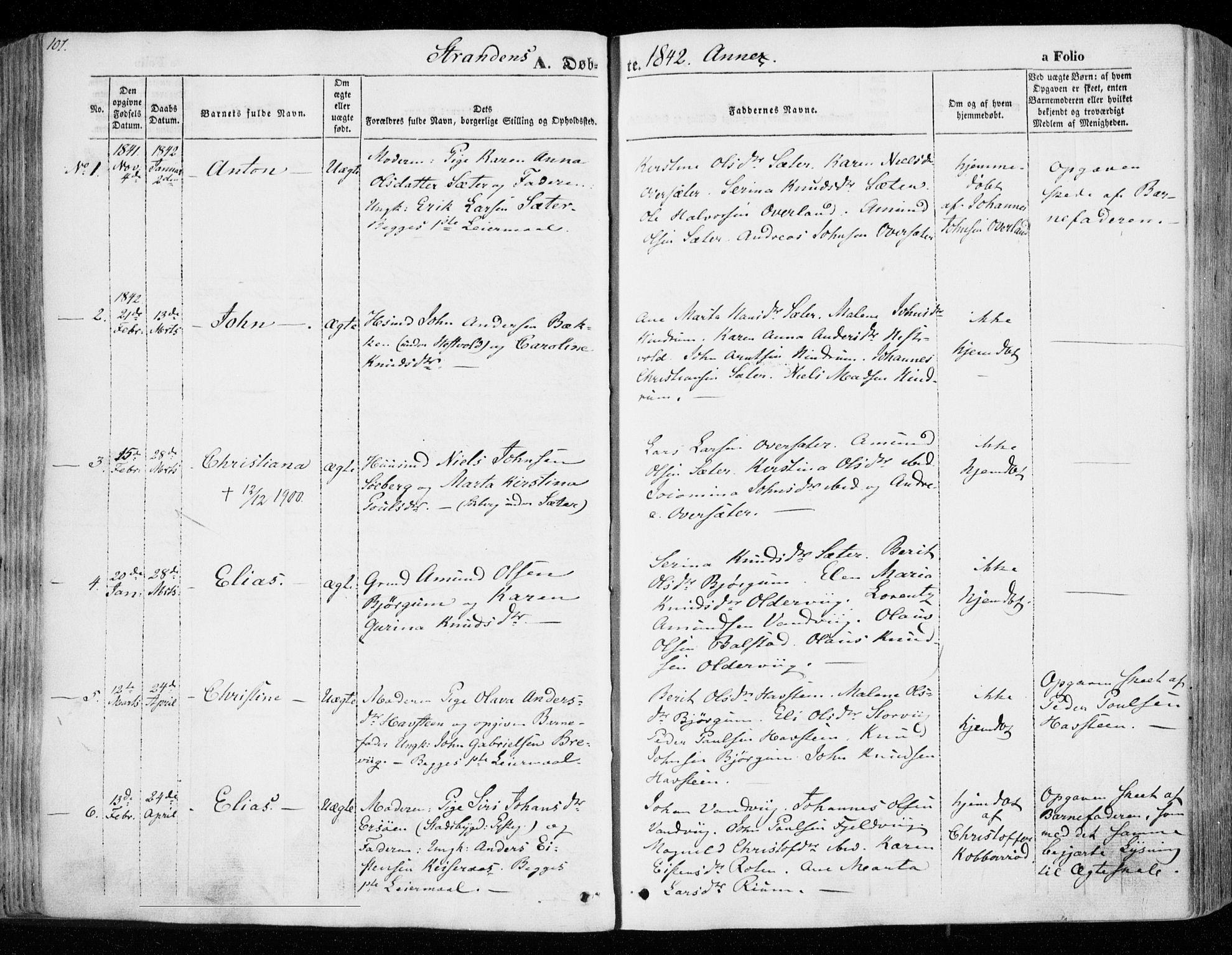 SAT, Ministerialprotokoller, klokkerbøker og fødselsregistre - Nord-Trøndelag, 701/L0007: Ministerialbok nr. 701A07 /2, 1842-1854, s. 101