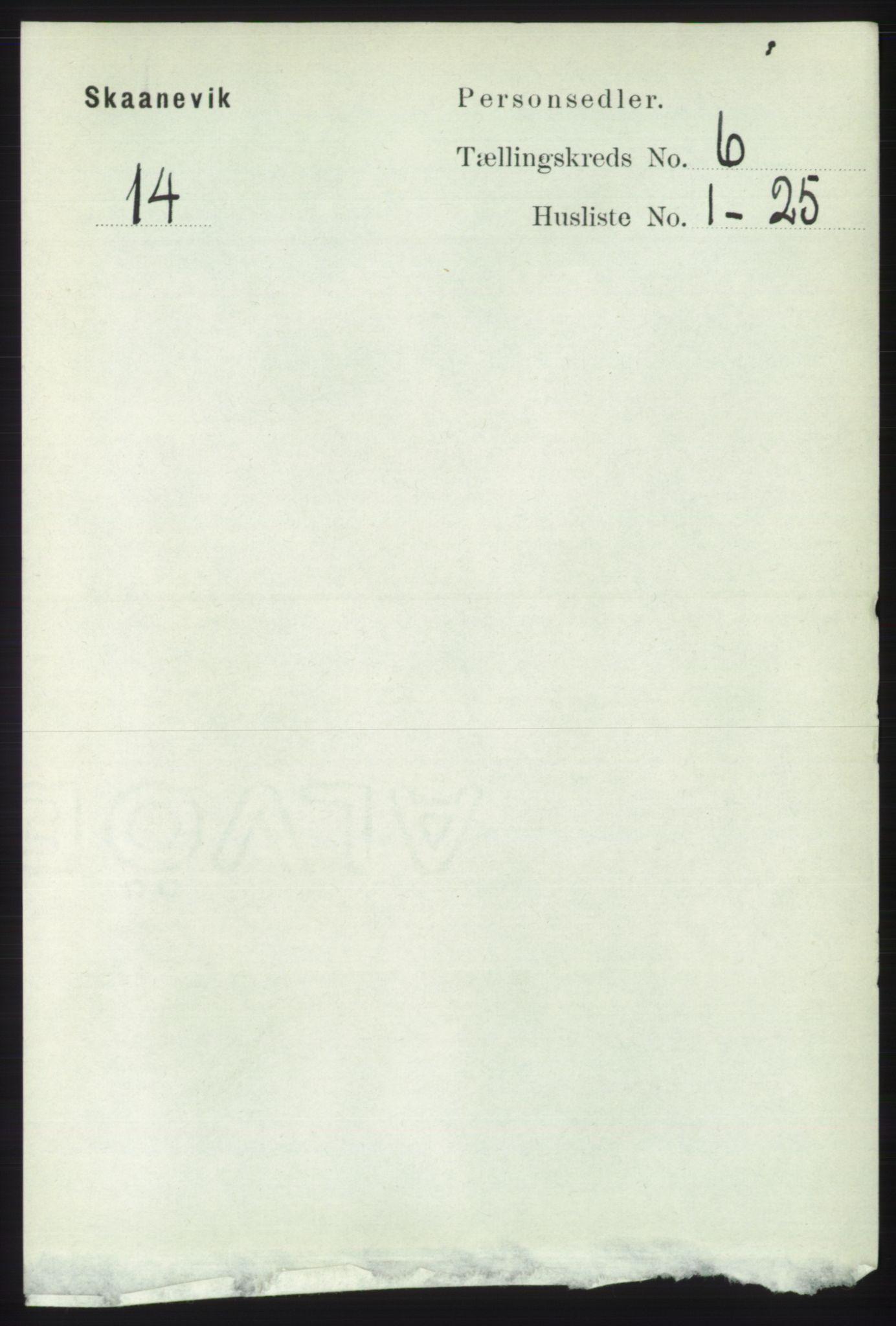 RA, Folketelling 1891 for 1212 Skånevik herred, 1891, s. 1539