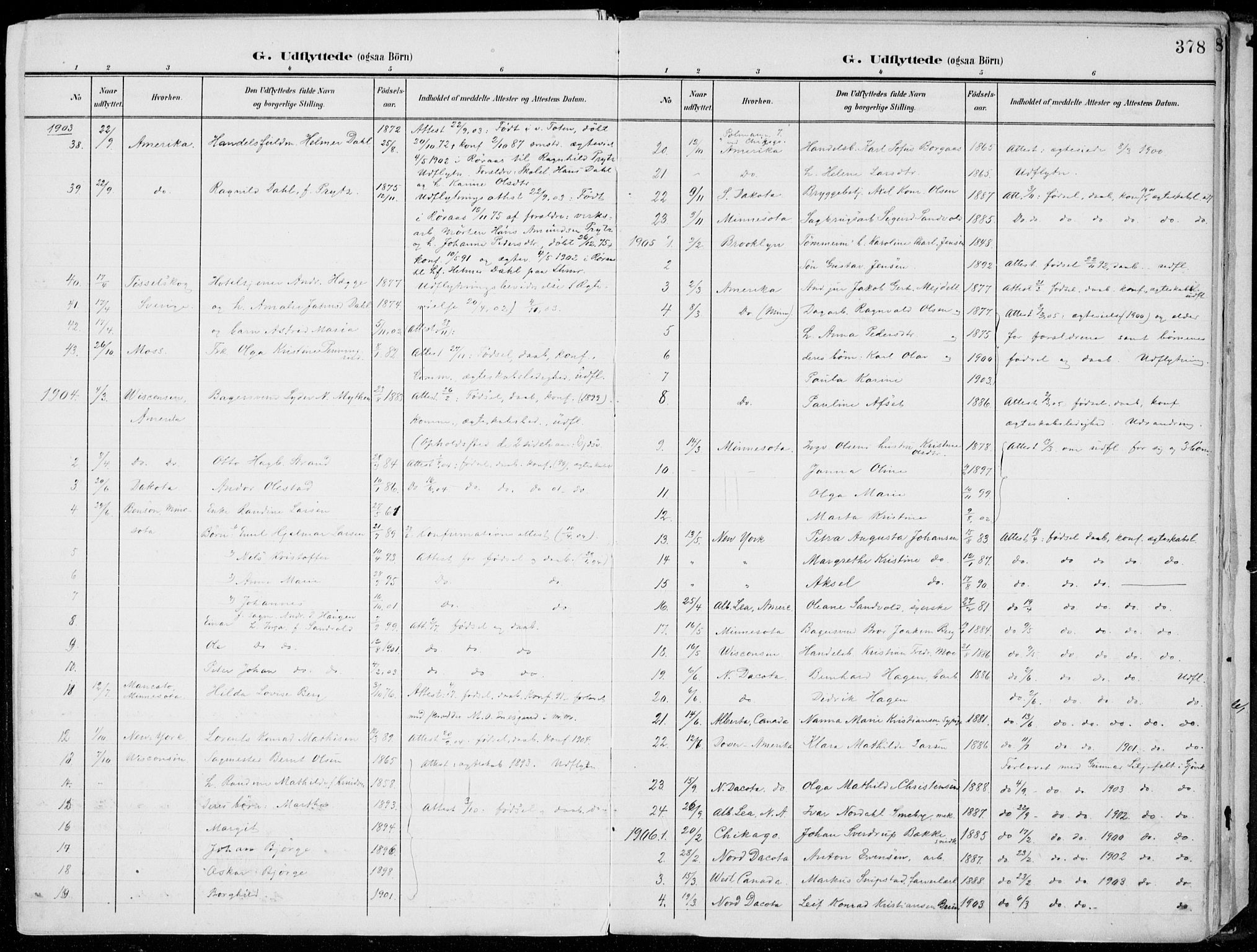 SAH, Lillehammer prestekontor, Ministerialbok nr. 1, 1901-1916, s. 378