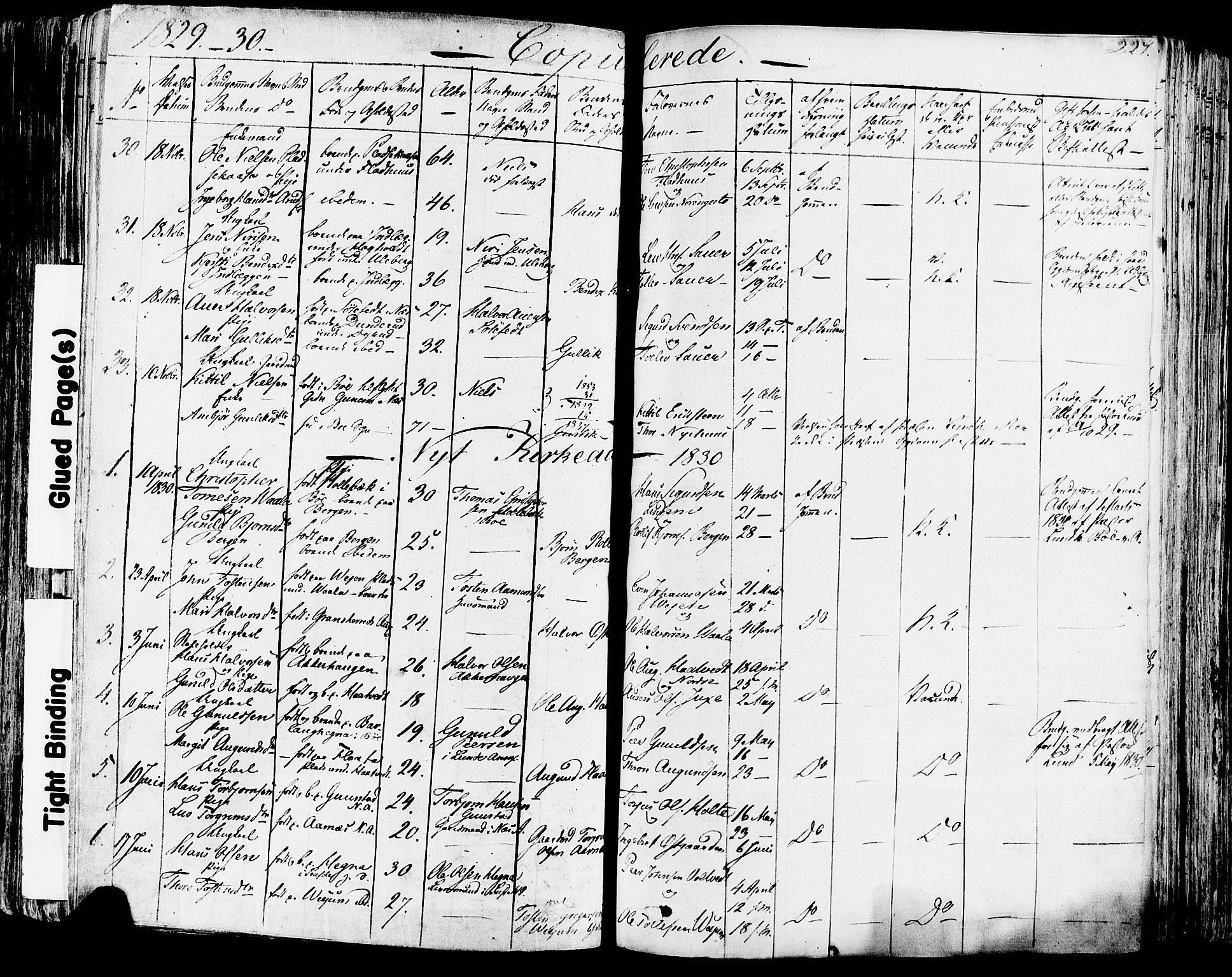 SAKO, Sauherad kirkebøker, F/Fa/L0006: Ministerialbok nr. I 6, 1827-1850, s. 227