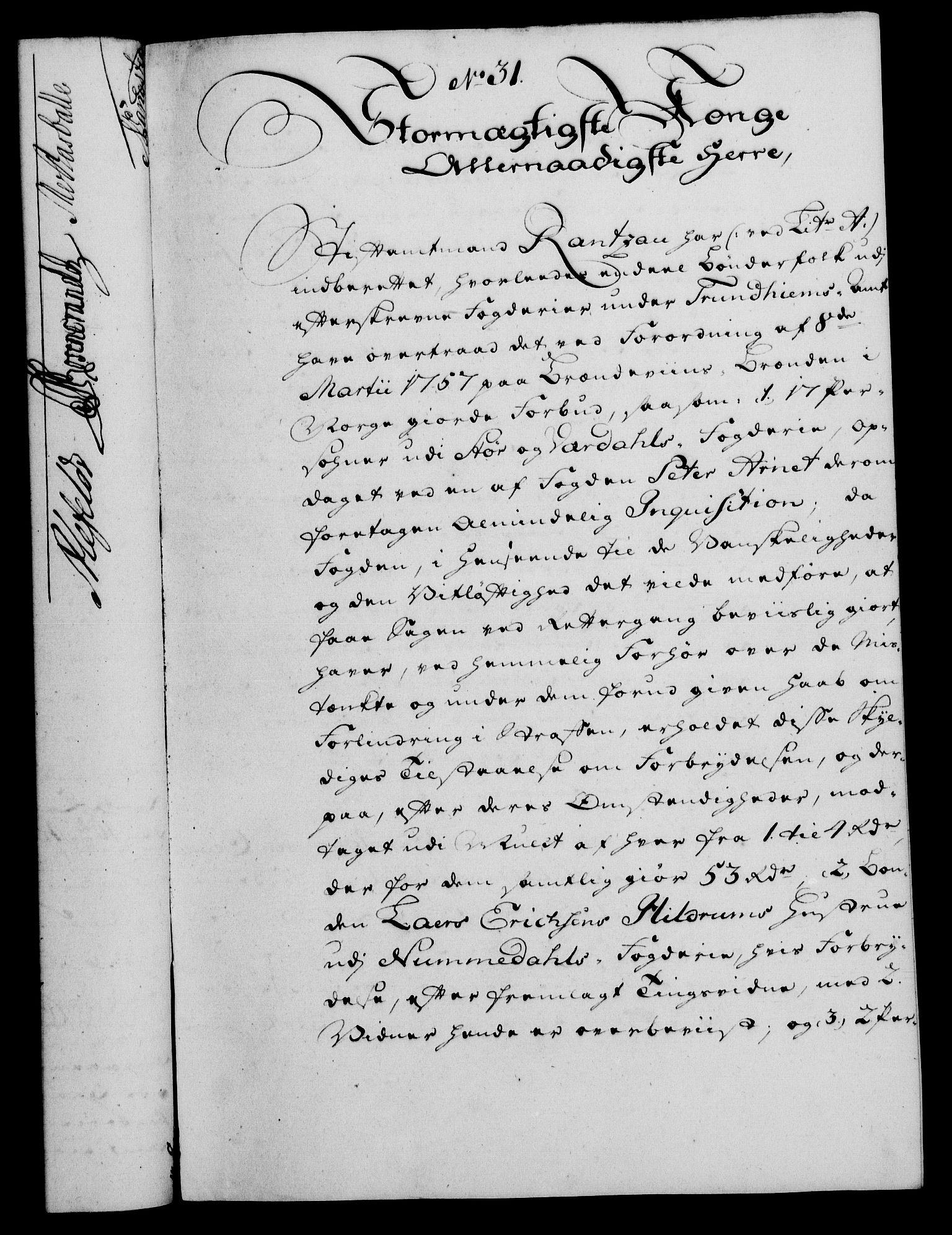 RA, Rentekammeret, Kammerkanselliet, G/Gf/Gfa/L0042: Norsk relasjons- og resolusjonsprotokoll (merket RK 52.42), 1760, s. 137