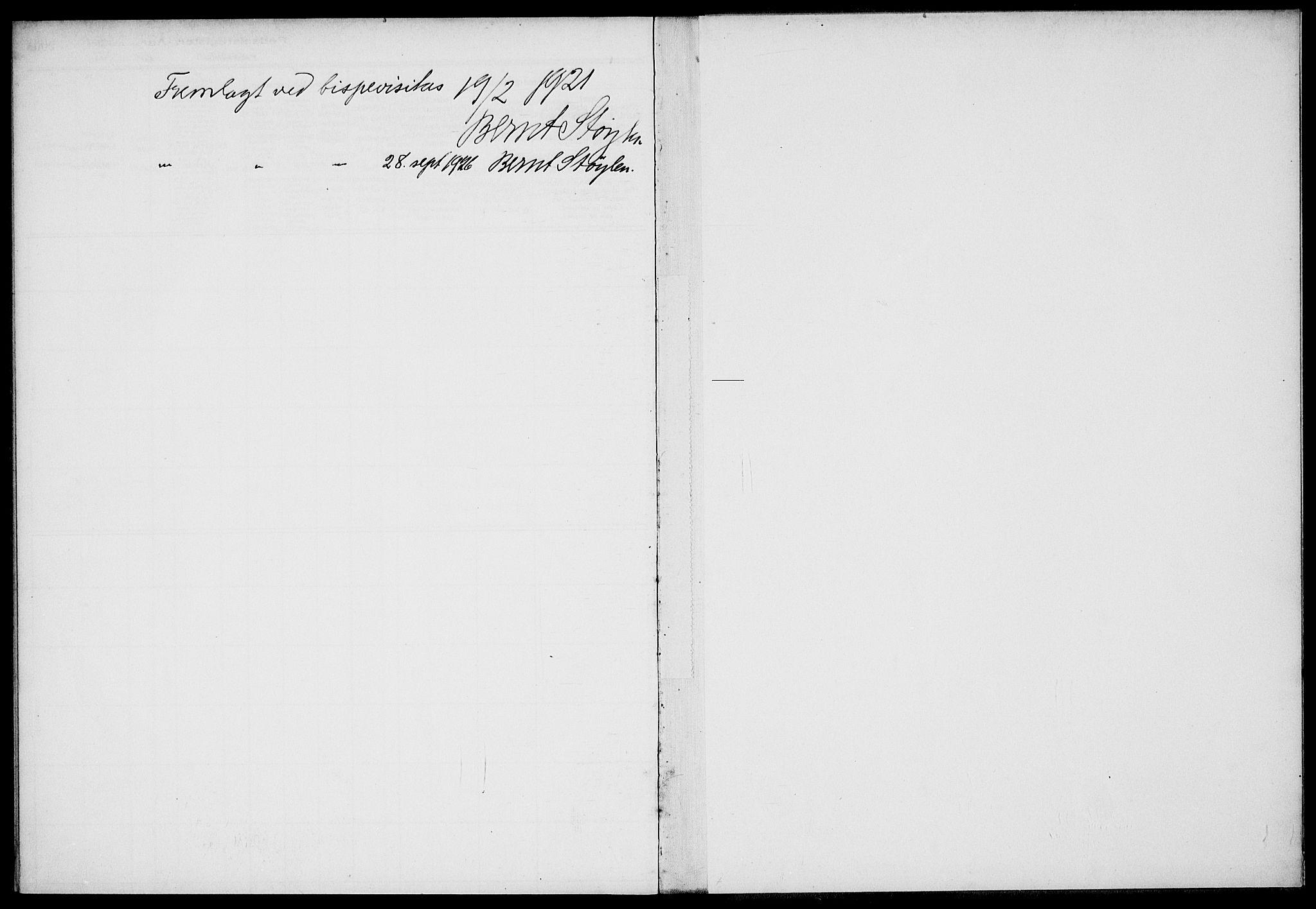 SAKO, Gjerpen kirkebøker, J/Ja/L0001: Fødselsregister nr. 1, 1916-1926