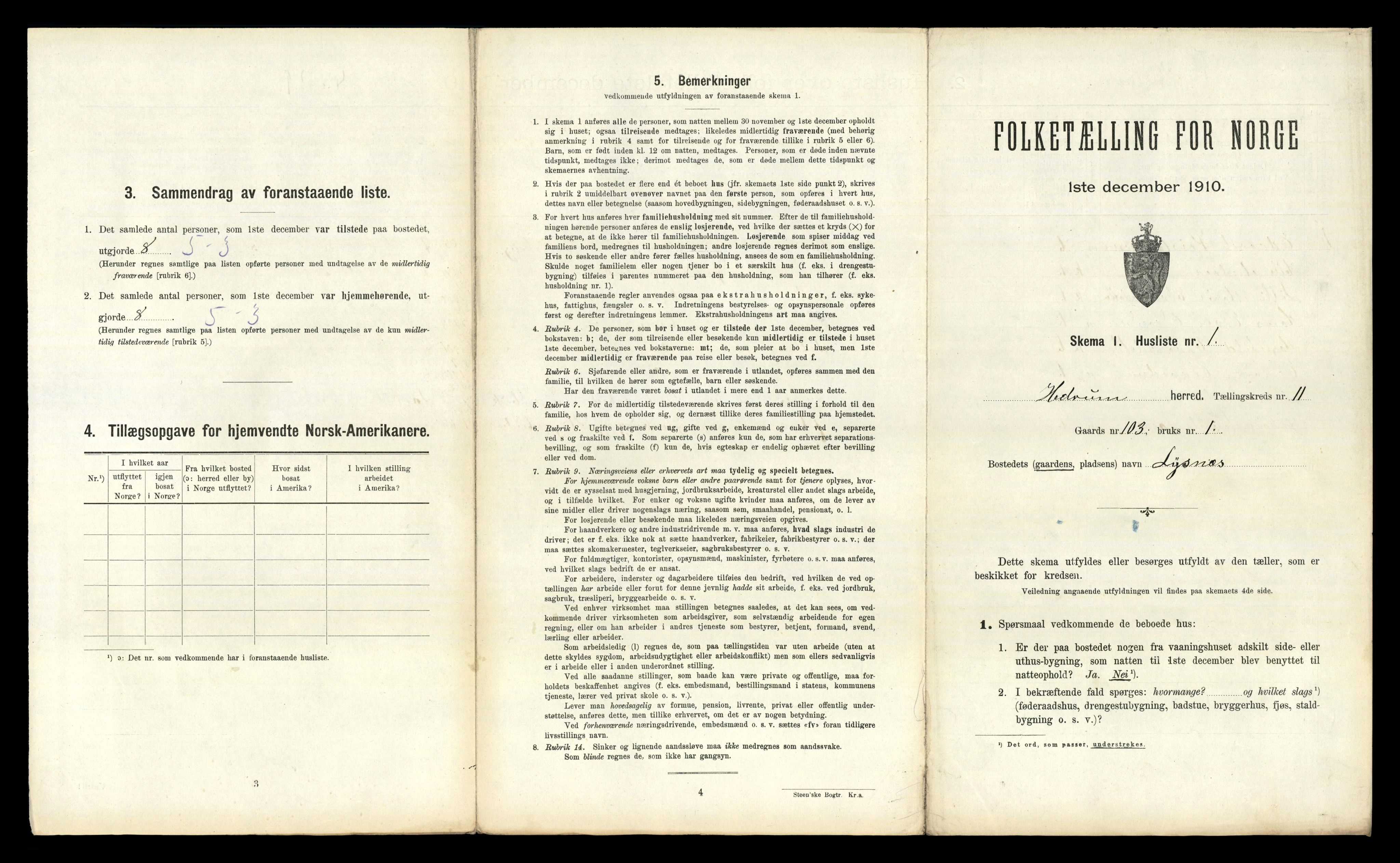 RA, Folketelling 1910 for 0727 Hedrum herred, 1910, s. 1172