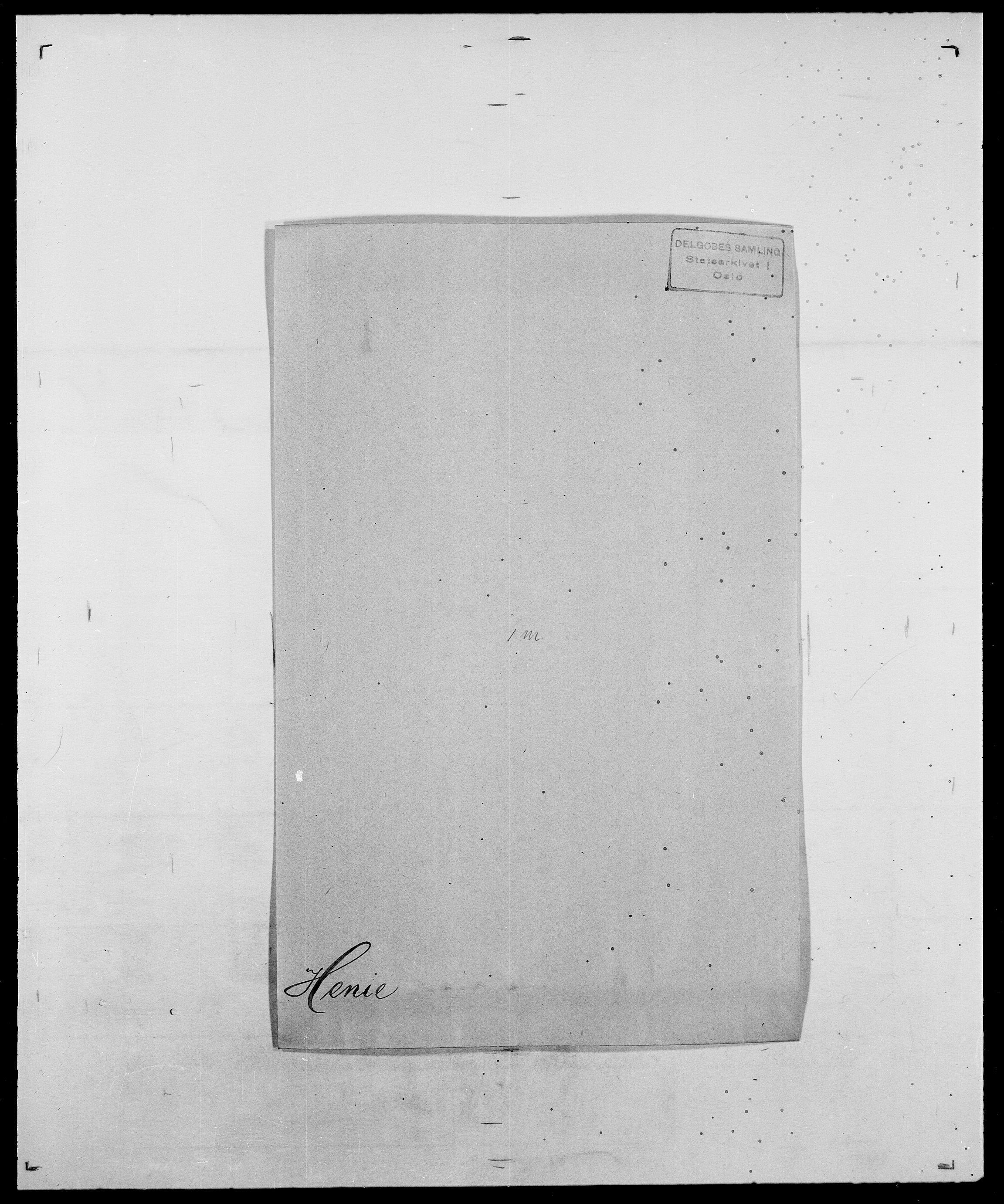 SAO, Delgobe, Charles Antoine - samling, D/Da/L0017: Helander - Hjørne, s. 176