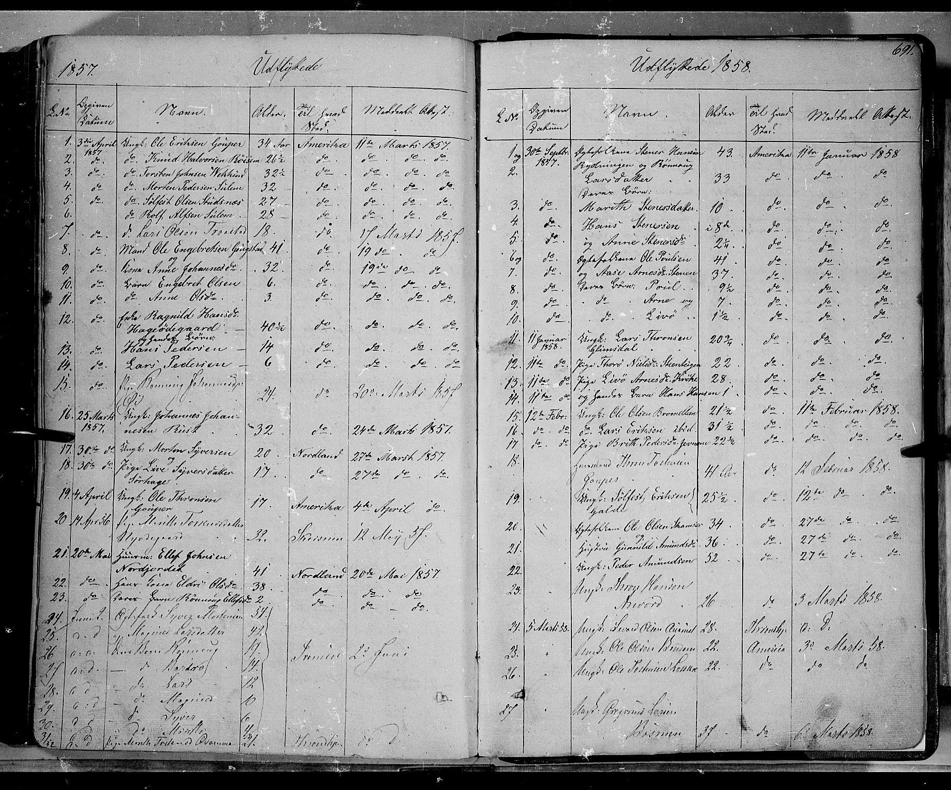 SAH, Lom prestekontor, K/L0006: Ministerialbok nr. 6B, 1837-1863, s. 691