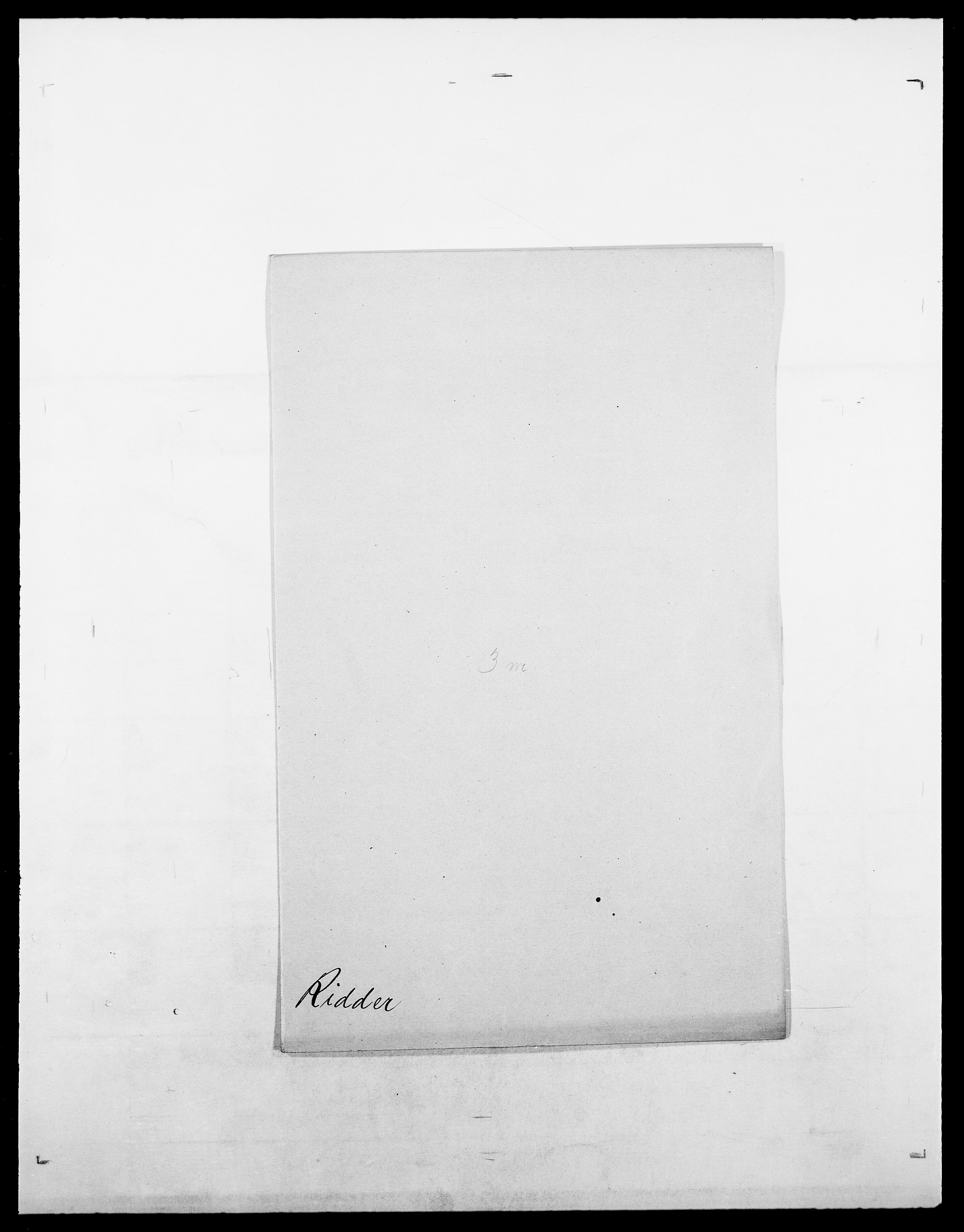 SAO, Delgobe, Charles Antoine - samling, D/Da/L0032: Rabakovsky - Rivertz, s. 560