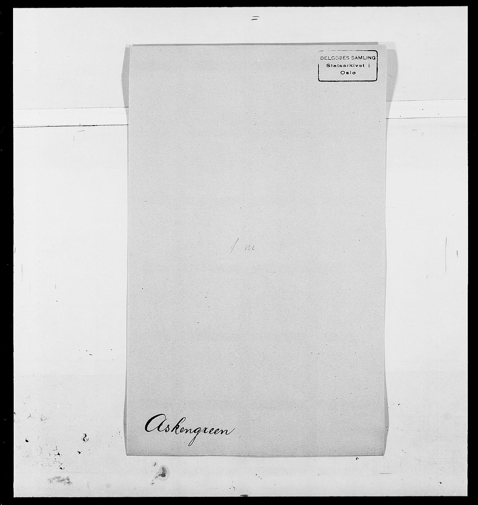 SAO, Delgobe, Charles Antoine - samling, D/Da/L0002: Anker, Ancher - Bauner, s. 432