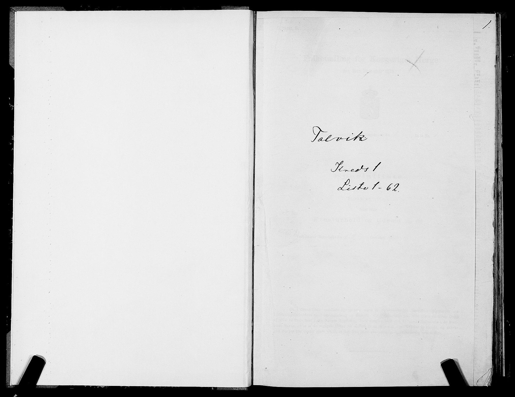SATØ, Folketelling 1875 for 2013P Talvik prestegjeld, 1875