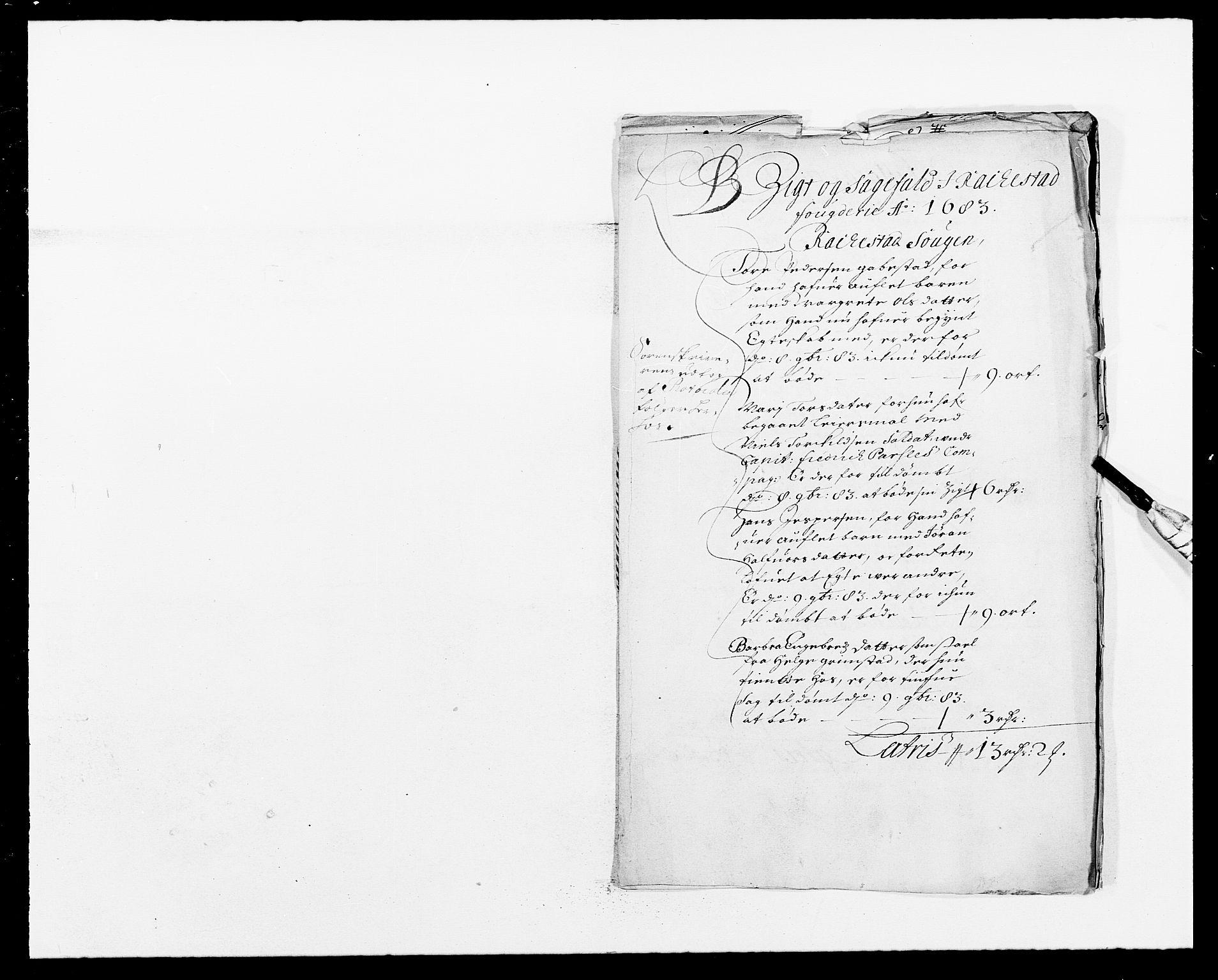 RA, Rentekammeret inntil 1814, Reviderte regnskaper, Fogderegnskap, R05/L0274: Fogderegnskap Rakkestad, 1683-1684, s. 37