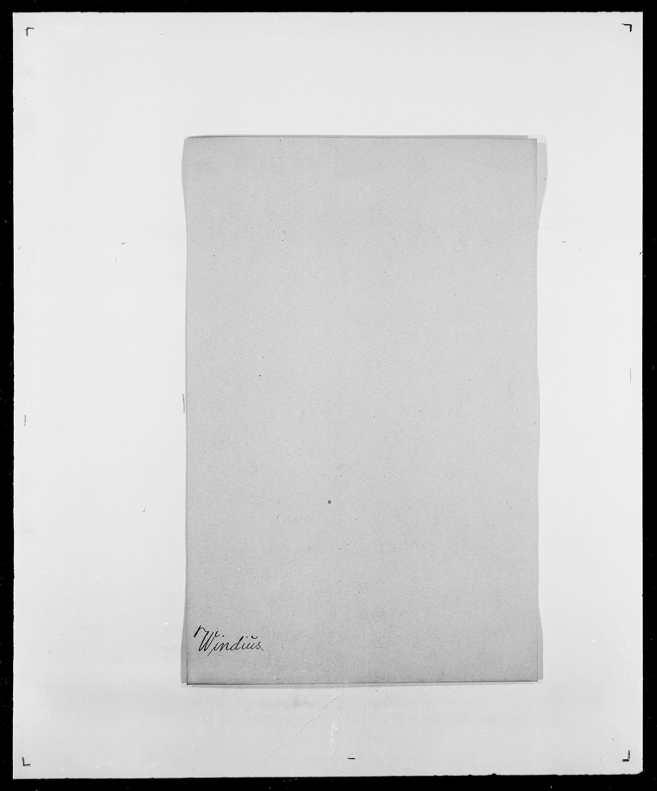 SAO, Delgobe, Charles Antoine - samling, D/Da/L0042: Vilain - Wulf, Wulff, se også Wolf, s. 169