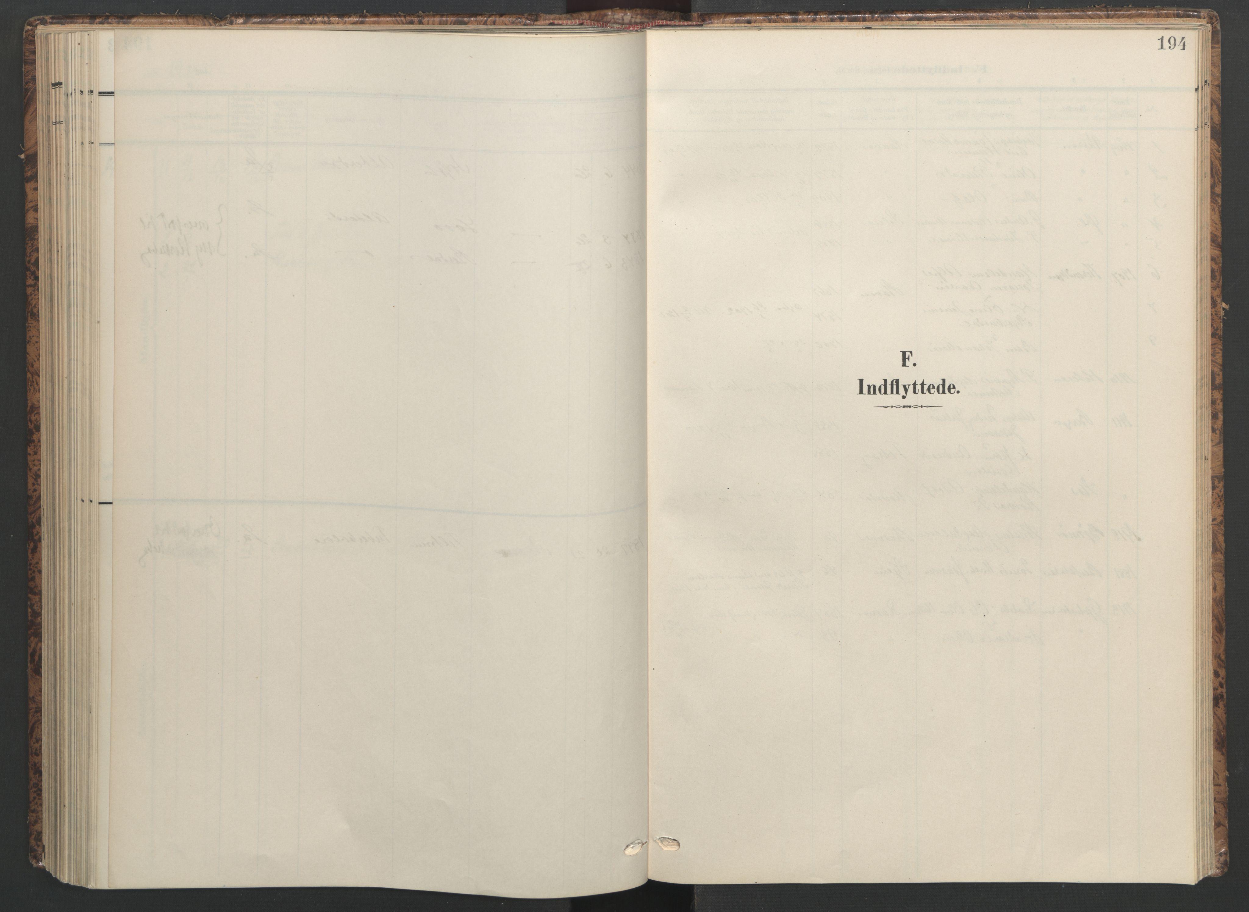 SAT, Ministerialprotokoller, klokkerbøker og fødselsregistre - Sør-Trøndelag, 655/L0682: Ministerialbok nr. 655A11, 1908-1922, s. 194