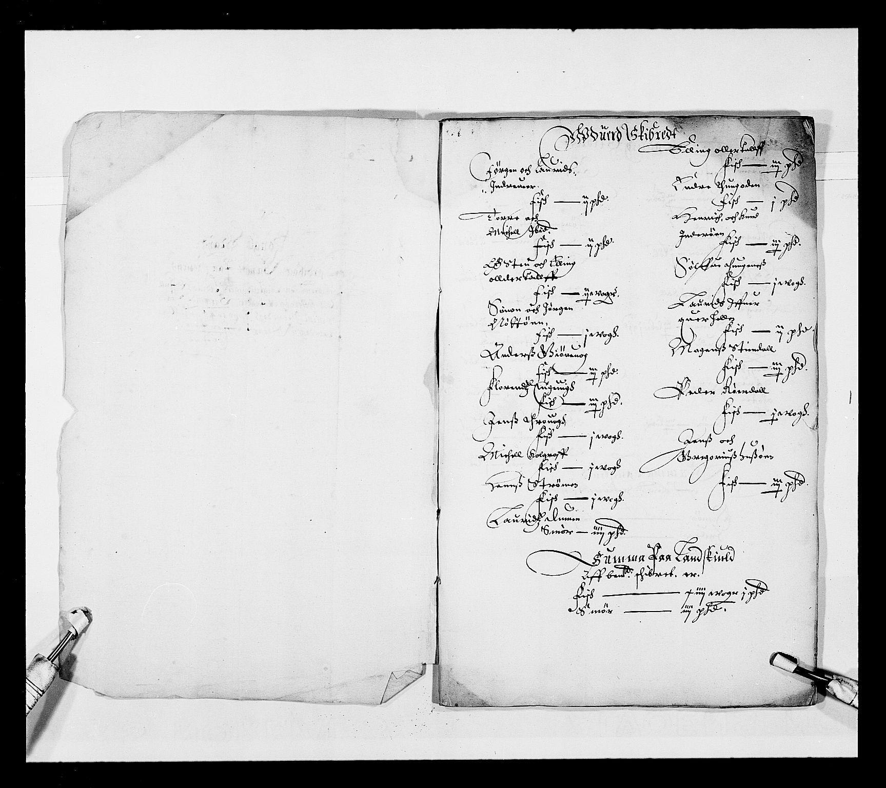 RA, Stattholderembetet 1572-1771, Ek/L0025: Jordebøker 1633-1658:, 1645-1646, s. 114