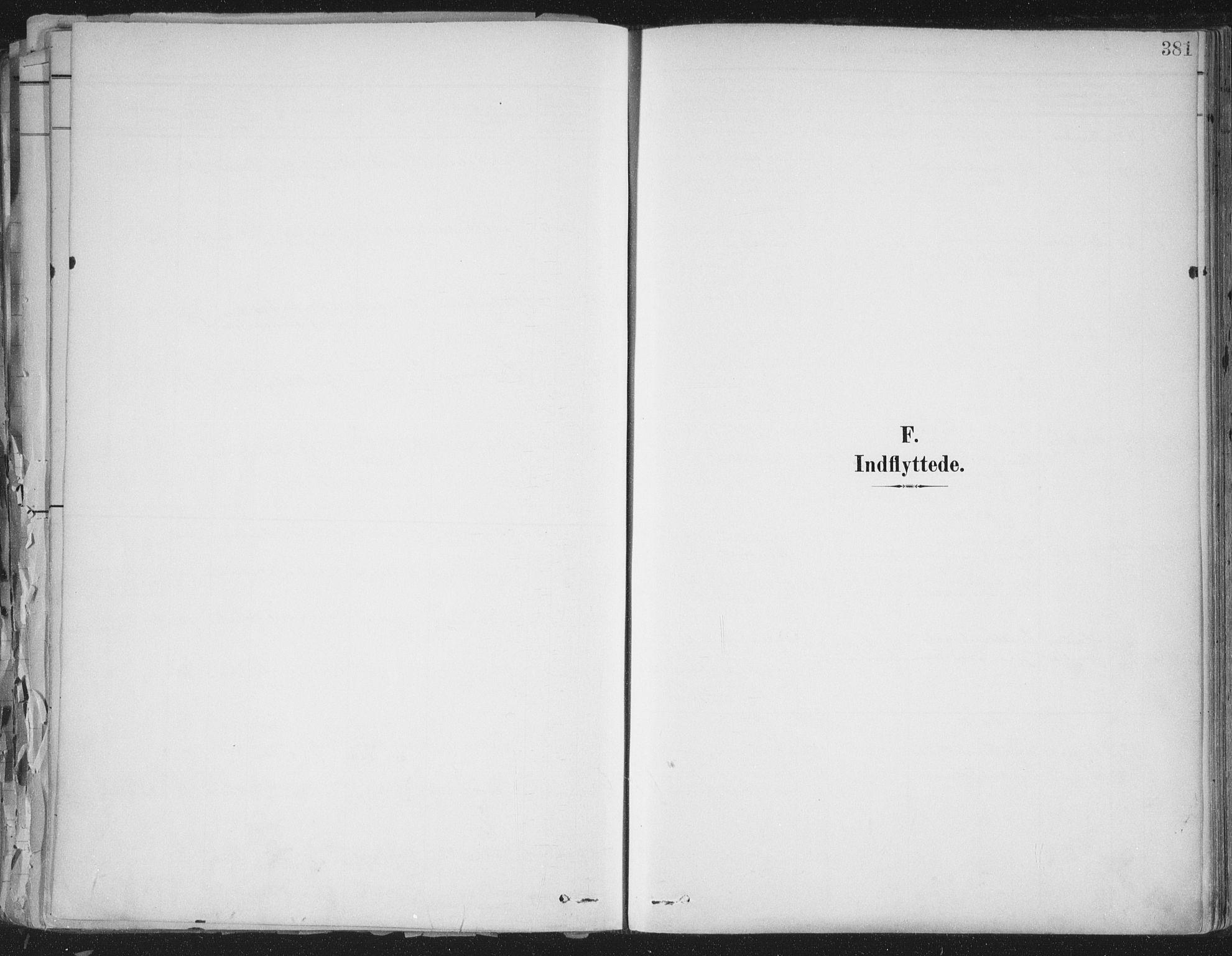 SAT, Ministerialprotokoller, klokkerbøker og fødselsregistre - Sør-Trøndelag, 603/L0167: Ministerialbok nr. 603A06, 1896-1932, s. 381