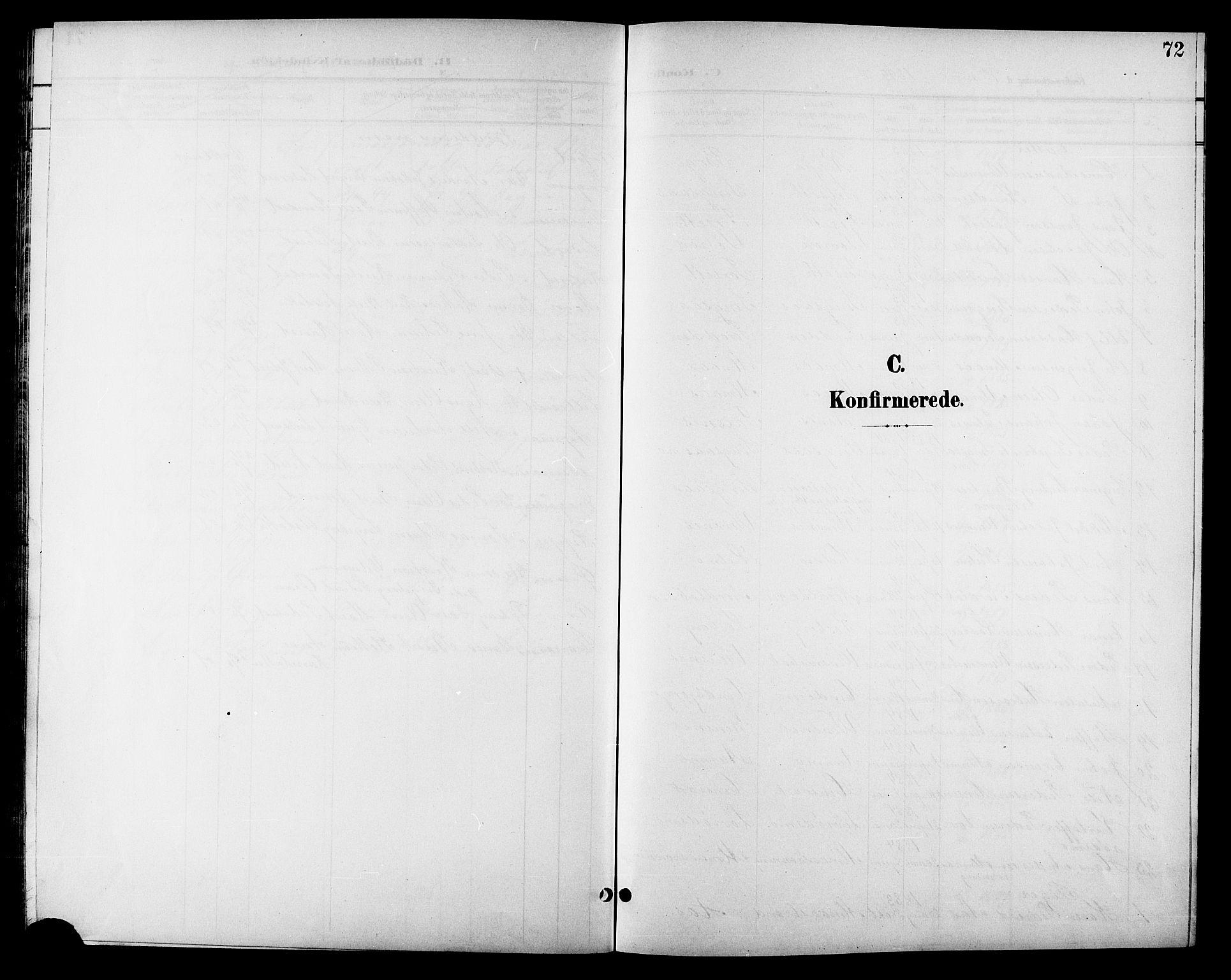 SAT, Ministerialprotokoller, klokkerbøker og fødselsregistre - Sør-Trøndelag, 688/L1029: Klokkerbok nr. 688C04, 1899-1915, s. 72