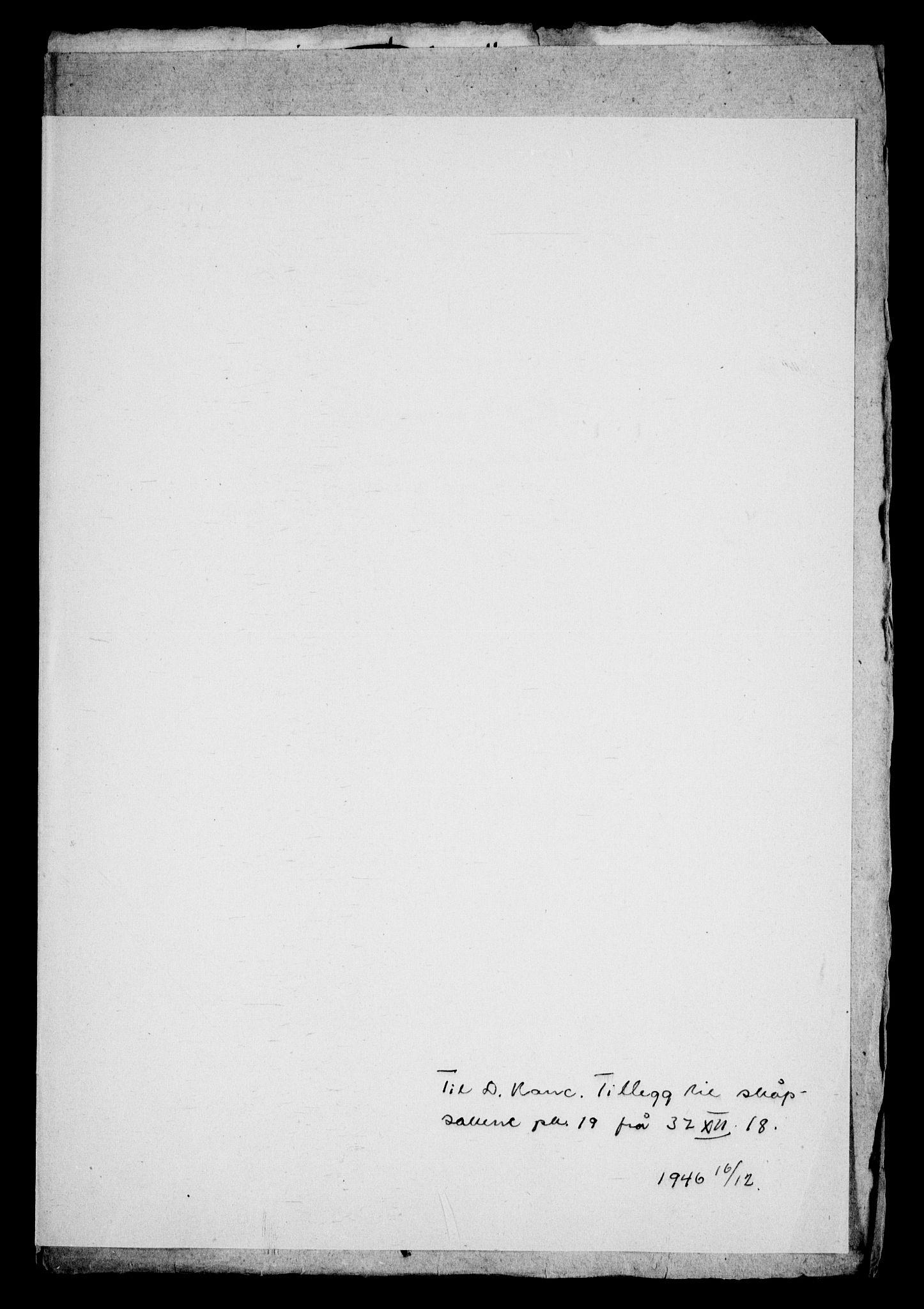 RA, Danske Kanselli, Skapsaker, G/L0019: Tillegg til skapsakene, 1616-1753, s. 69
