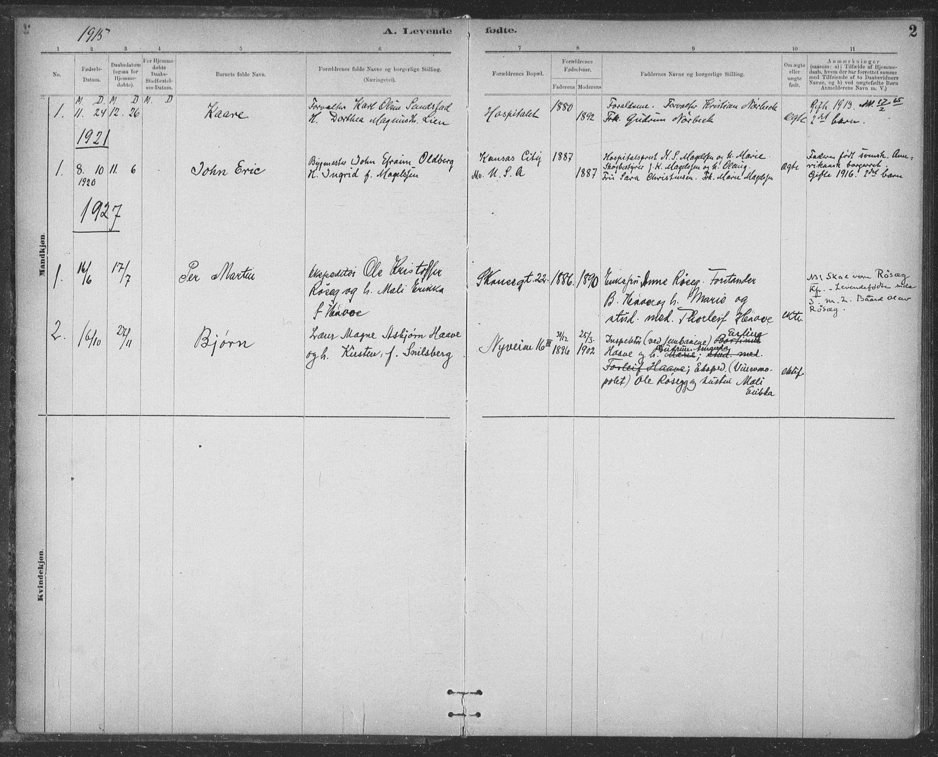 SAT, Ministerialprotokoller, klokkerbøker og fødselsregistre - Sør-Trøndelag, 623/L0470: Ministerialbok nr. 623A04, 1884-1938, s. 2