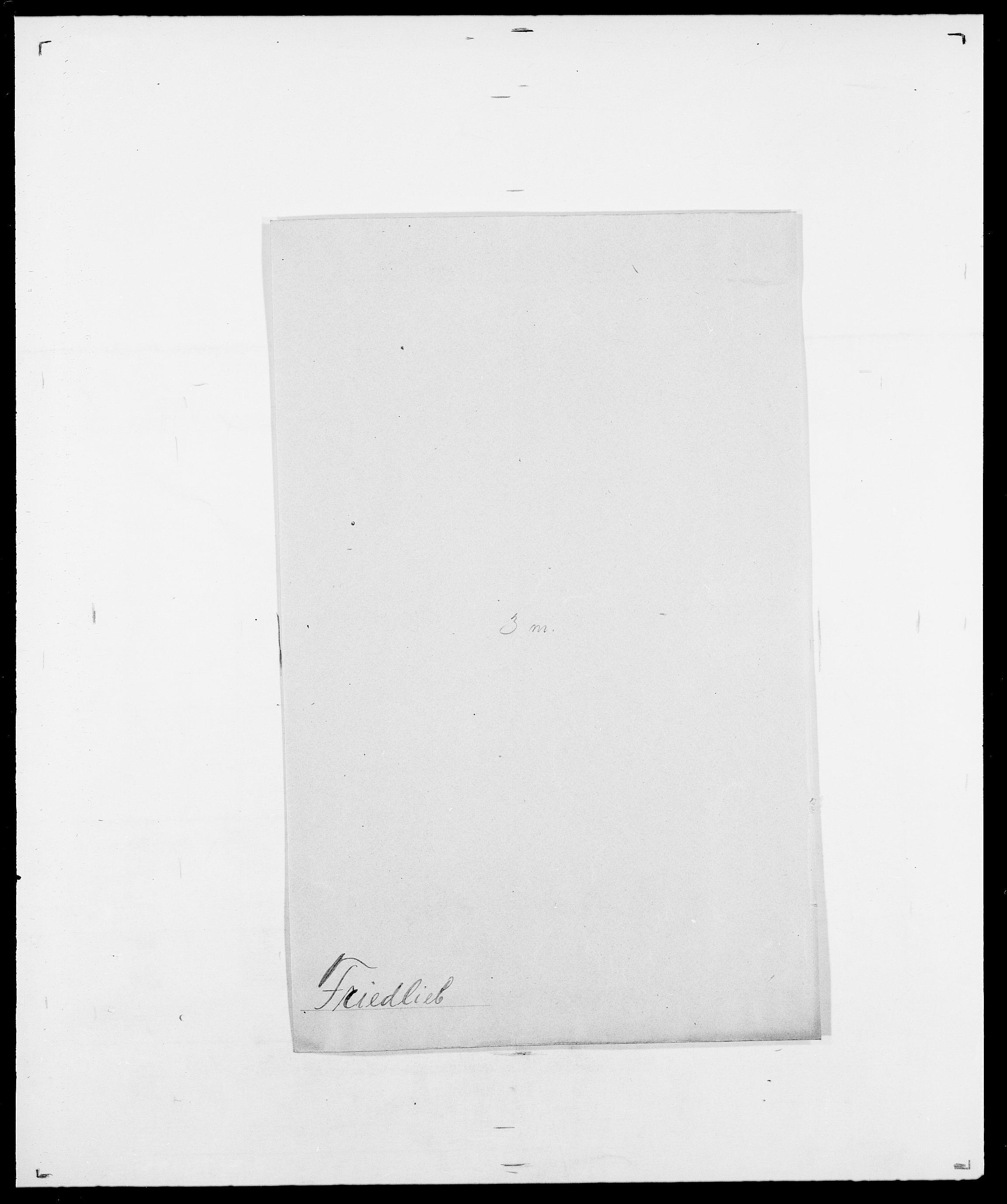 SAO, Delgobe, Charles Antoine - samling, D/Da/L0012: Flor, Floer, Flohr - Fritzner, s. 903