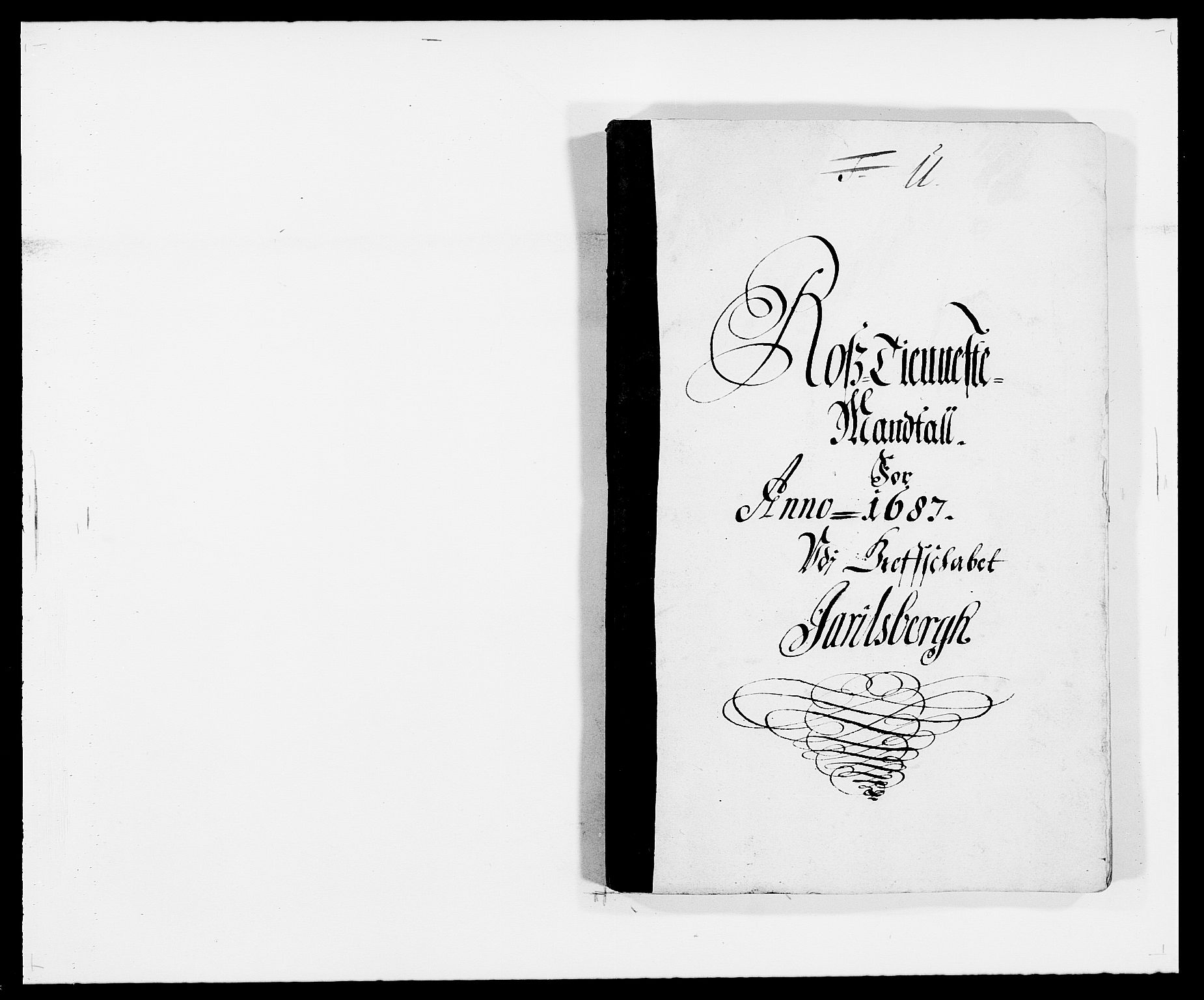 RA, Rentekammeret inntil 1814, Reviderte regnskaper, Fogderegnskap, R32/L1858: Fogderegnskap Jarlsberg grevskap, 1686-1690, s. 332