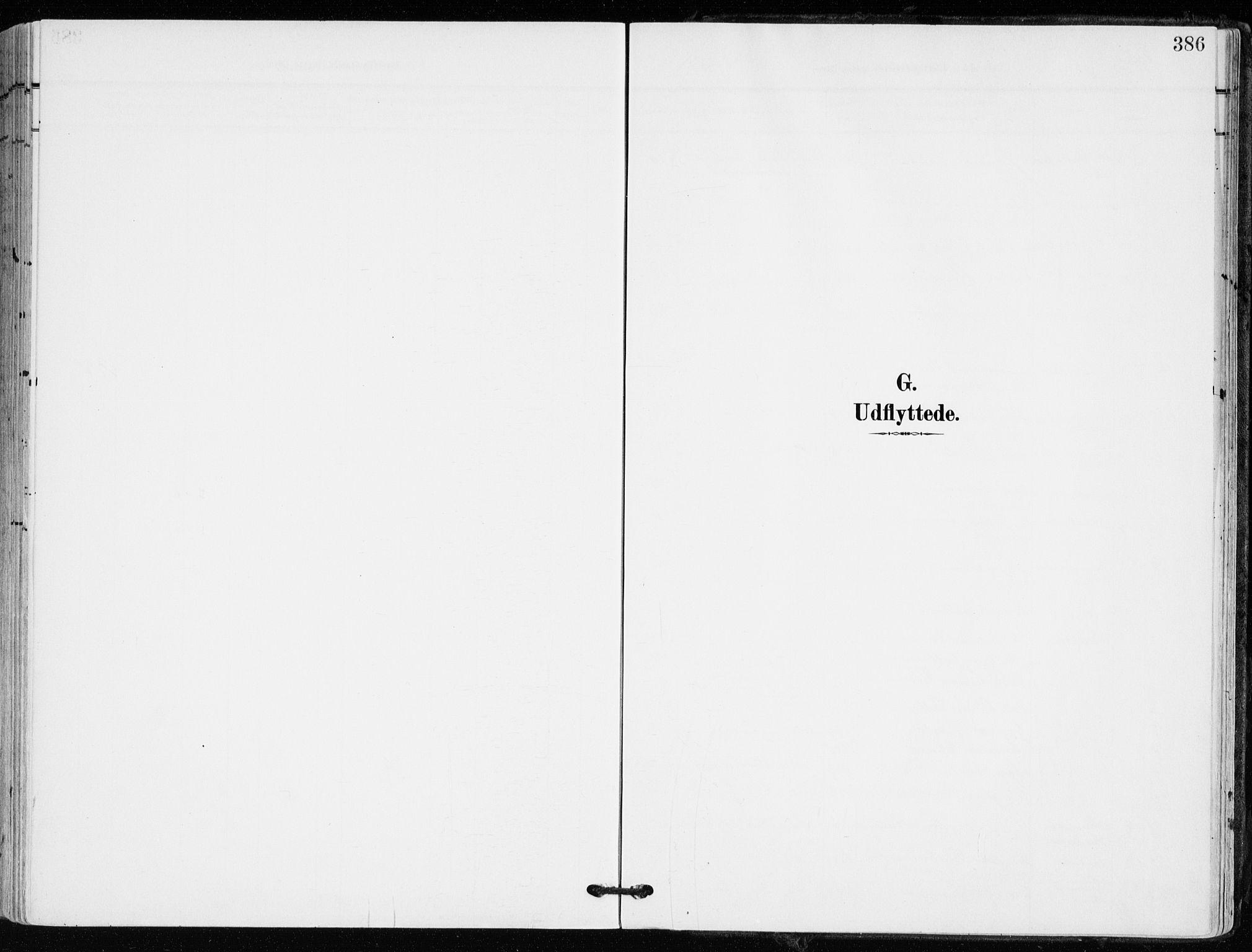 SAKO, Kongsberg kirkebøker, F/Fb/L0004: Ministerialbok nr. II 4, 1906-1918, s. 386