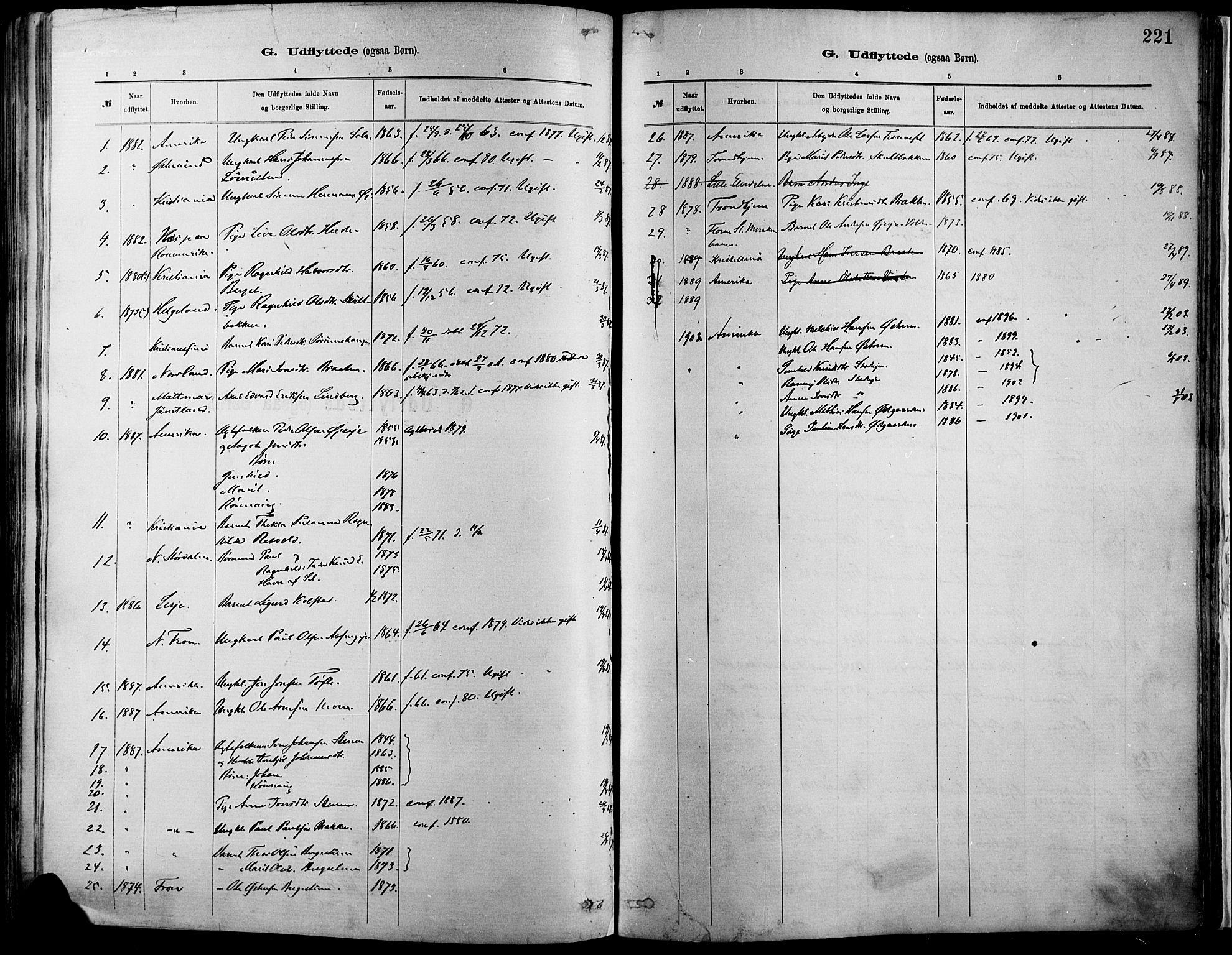 SAH, Vågå prestekontor, Ministerialbok nr. 9, 1886-1904, s. 221