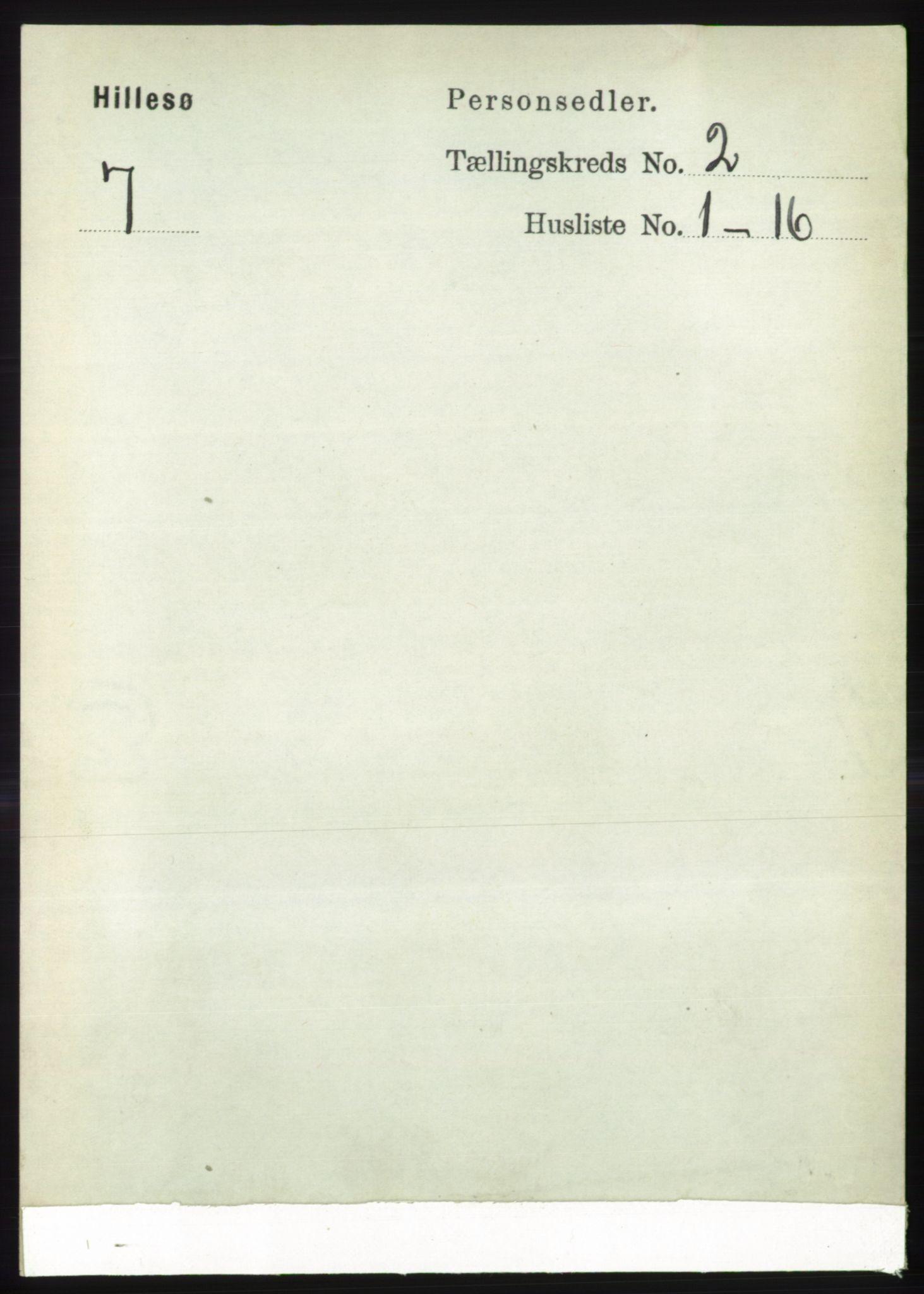 RA, Folketelling 1891 for 1930 Hillesøy herred, 1891, s. 628