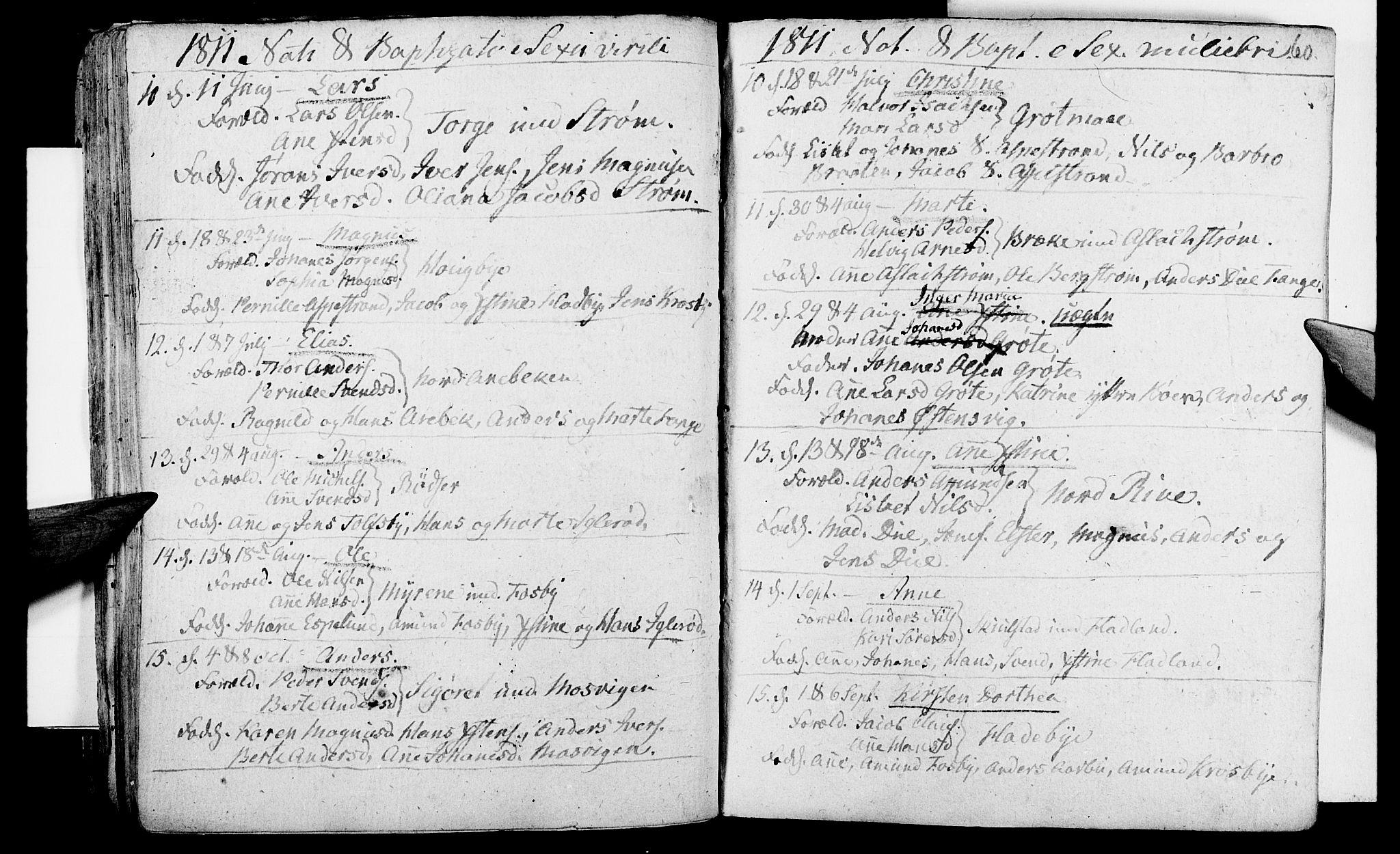 SAO, Aremark prestekontor Kirkebøker, F/Fa/L0004: Ministerialbok nr. I 4, 1796-1814, s. 60