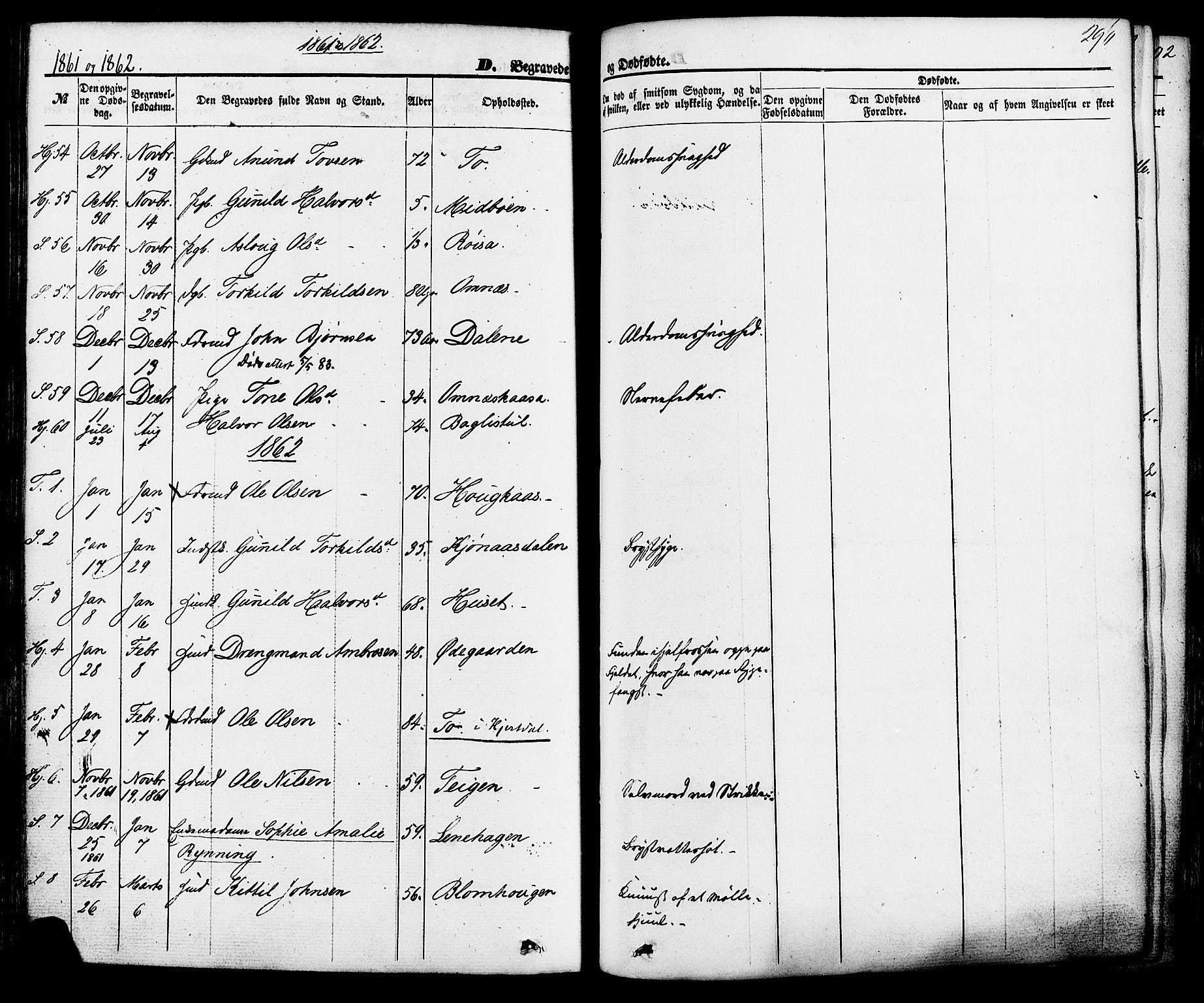 SAKO, Hjartdal kirkebøker, F/Fa/L0009: Ministerialbok nr. I 9, 1860-1879, s. 296
