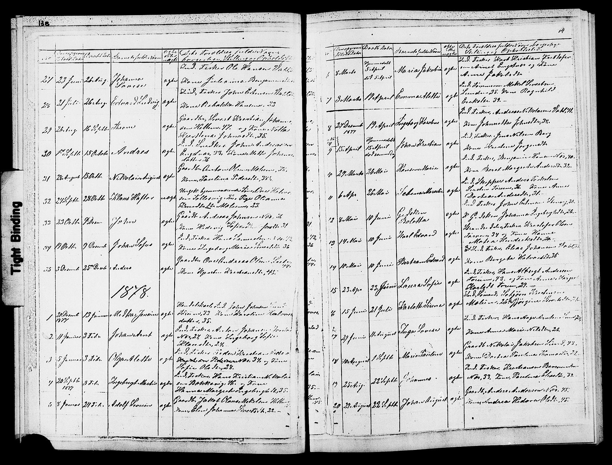 SAT, Ministerialprotokoller, klokkerbøker og fødselsregistre - Sør-Trøndelag, 652/L0653: Klokkerbok nr. 652C01, 1866-1910, s. 14