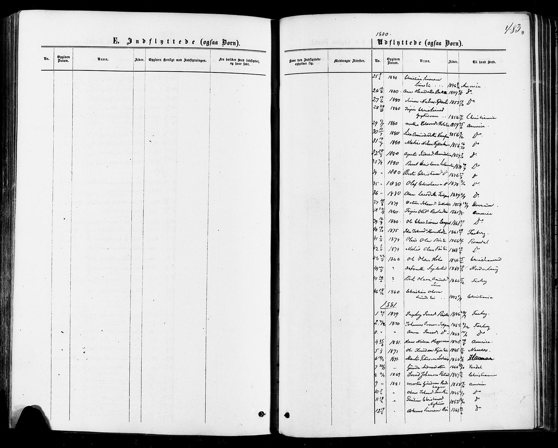 SAH, Østre Gausdal prestekontor, Ministerialbok nr. 1, 1874-1886, s. 483