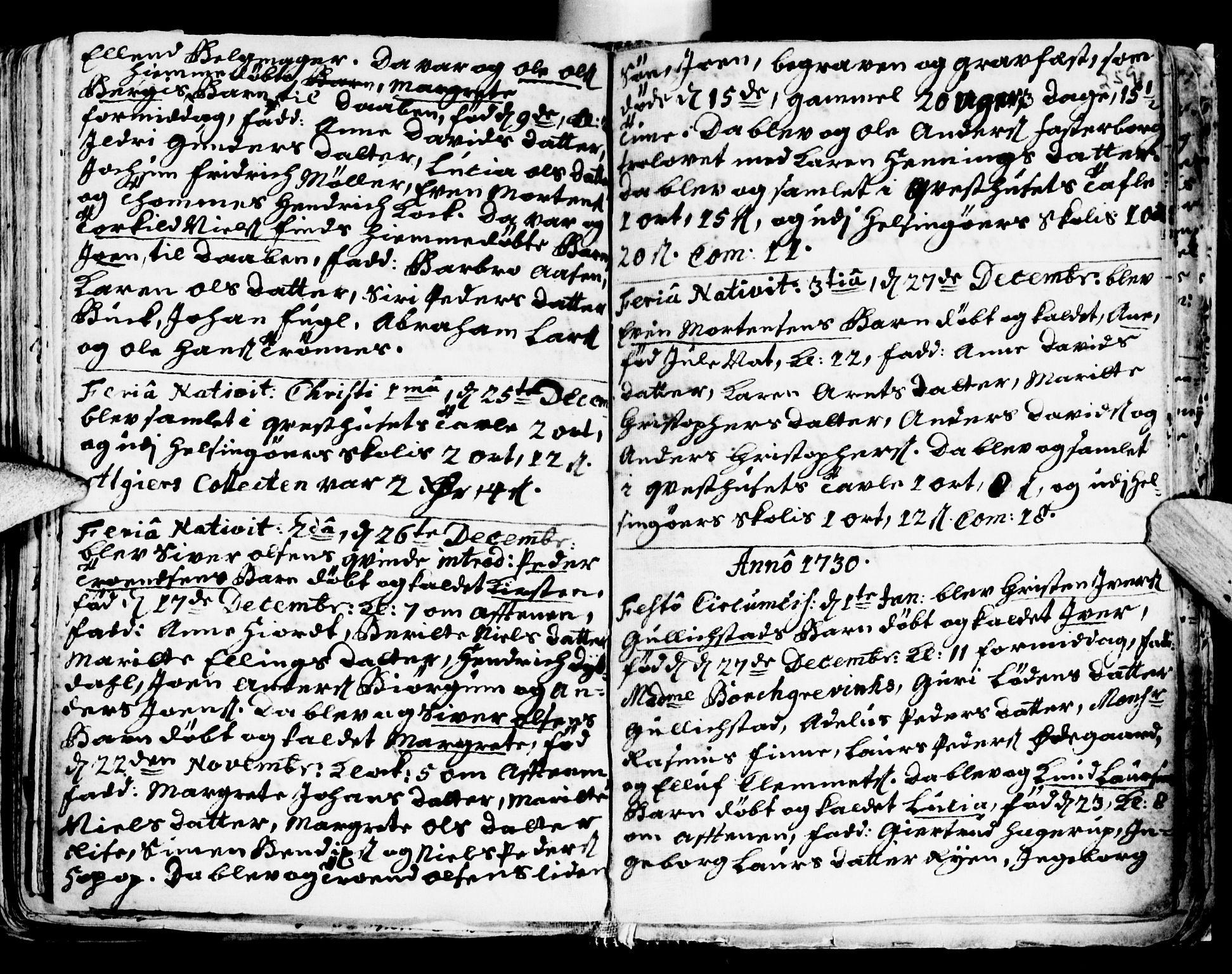 SAT, Ministerialprotokoller, klokkerbøker og fødselsregistre - Sør-Trøndelag, 681/L0924: Ministerialbok nr. 681A02, 1720-1731, s. 258-259