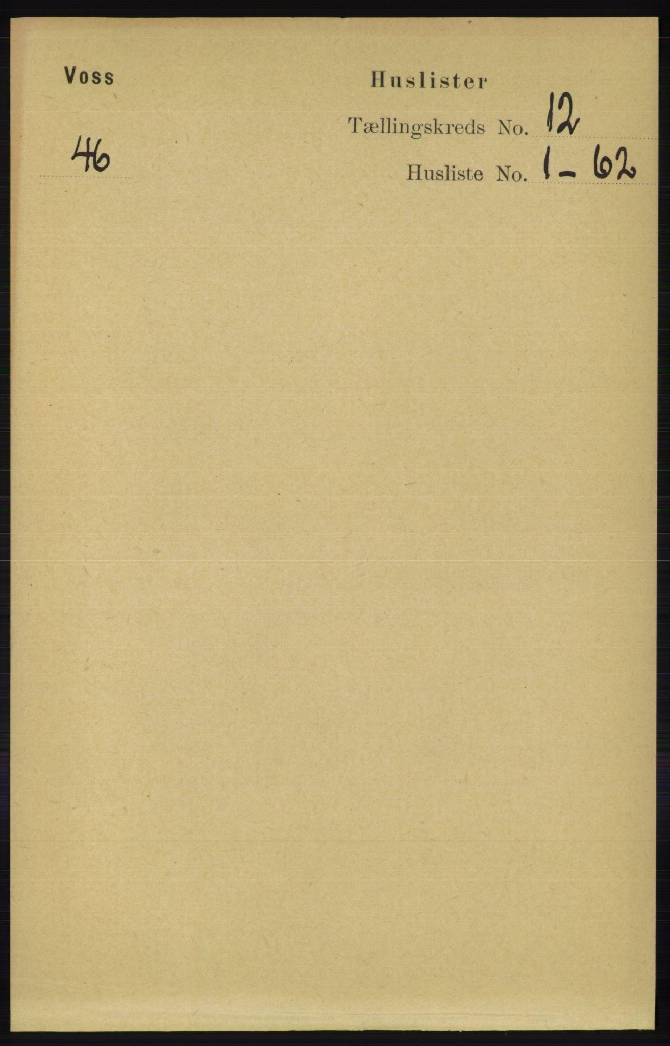 RA, Folketelling 1891 for 1235 Voss herred, 1891, s. 6414