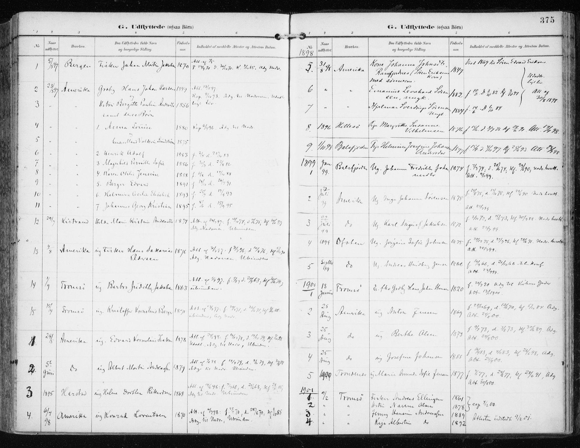 SATØ, Tromsøysund sokneprestkontor, G/Ga/L0006kirke: Ministerialbok nr. 6, 1897-1906, s. 375