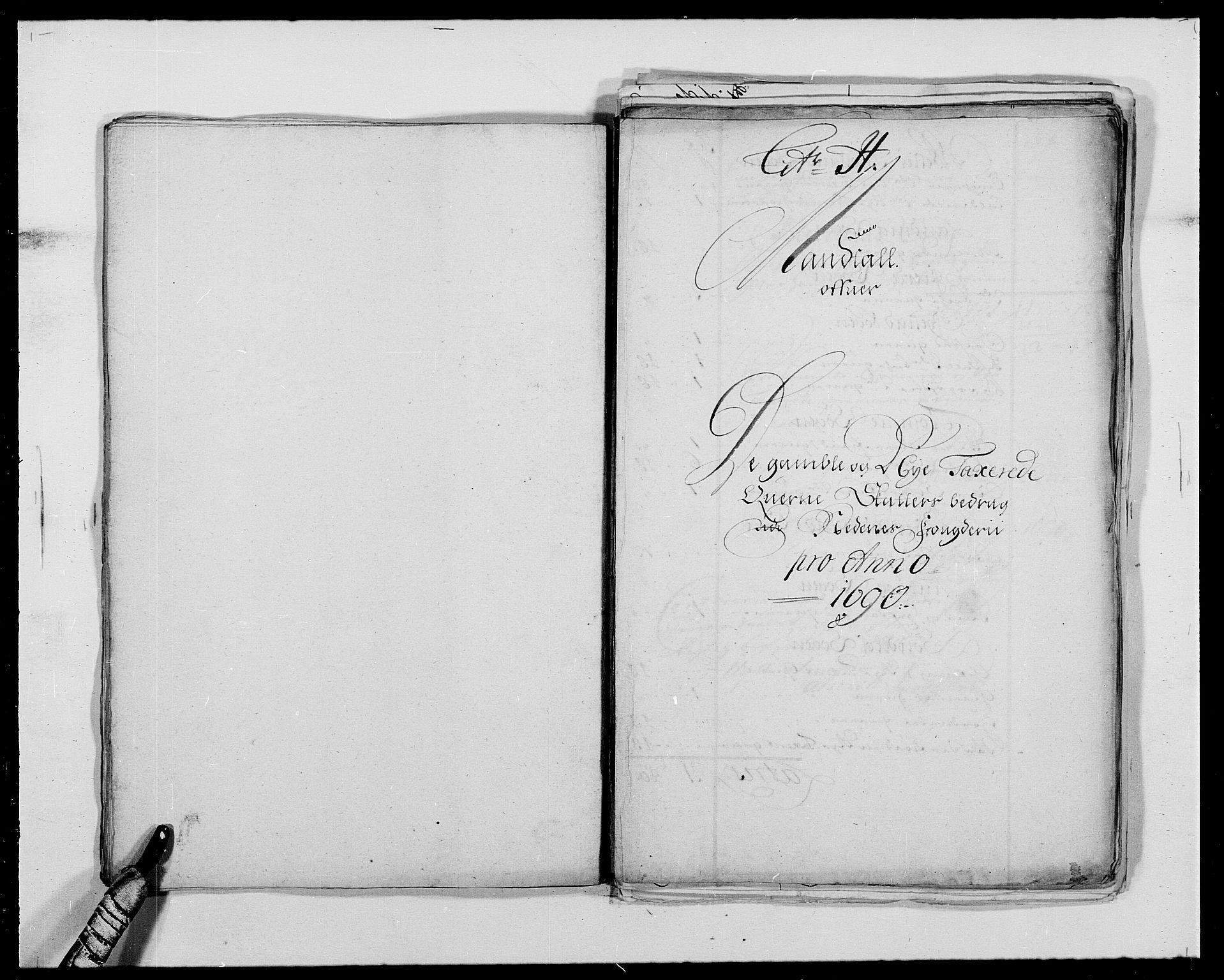 RA, Rentekammeret inntil 1814, Reviderte regnskaper, Fogderegnskap, R39/L2310: Fogderegnskap Nedenes, 1690-1692, s. 230